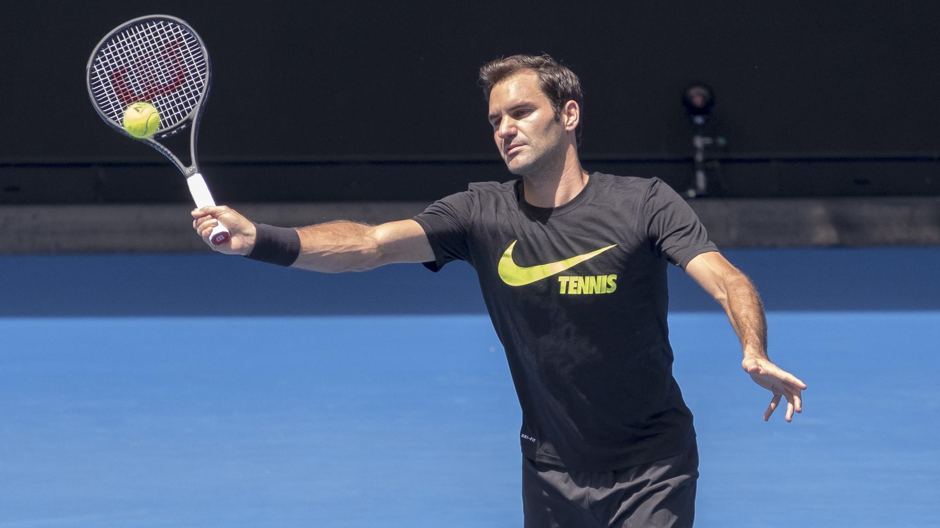 Roger Federer e Rafael Nadal de novo favoritos no Open da Austrália