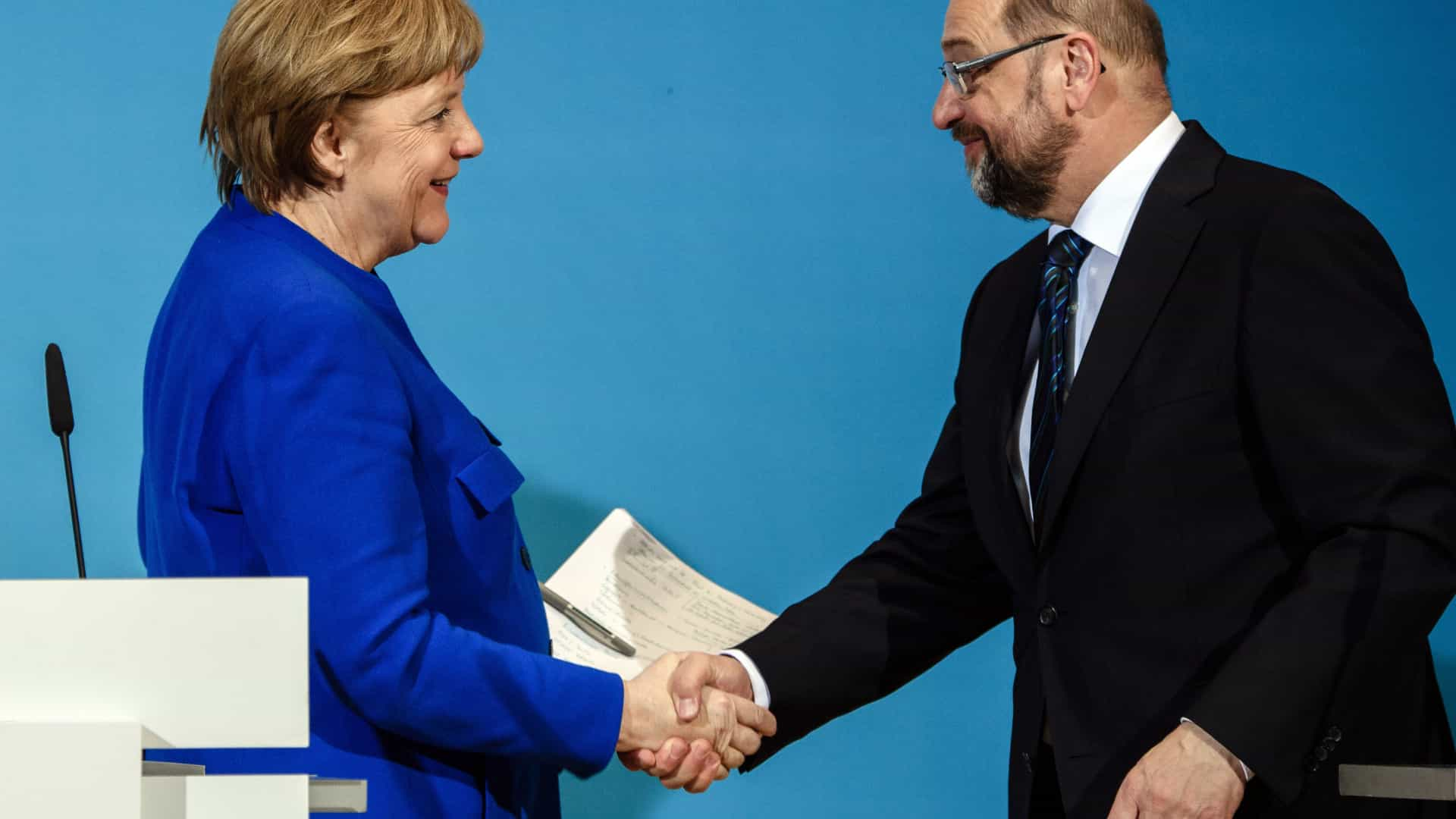 Partidos alemães iniciam negociações formais sobre governo de coalizão