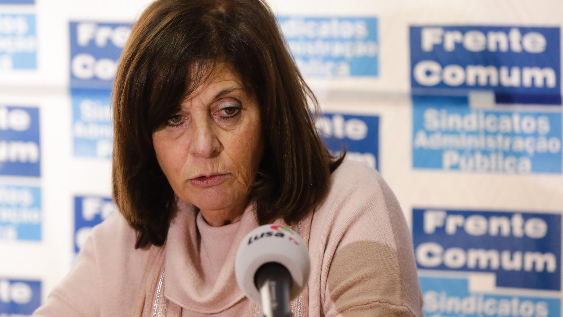 Frente Comum acusa Governo de violar lei no escalão salarial mais baixo