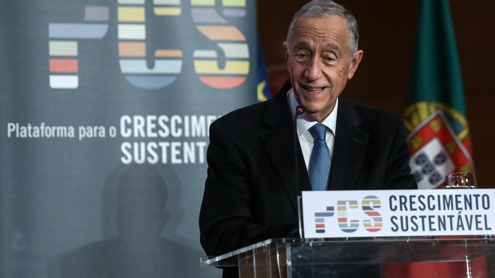"""Marcelo diz que relações com Angola estão a """"correr em muito bom plano"""""""