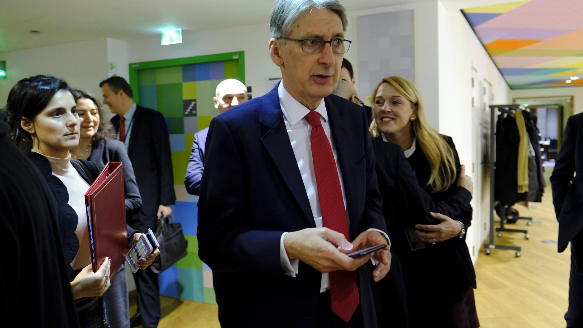 Ministro britânico visita Lisboa e reúne-se com Mário Centeno