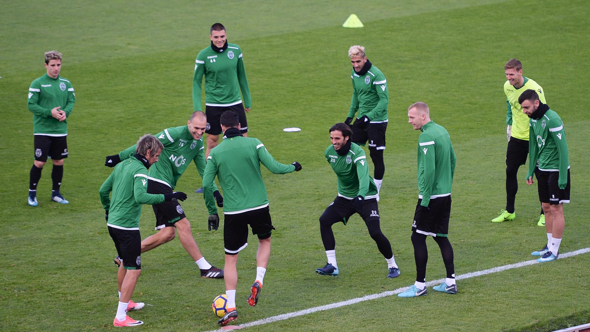 Equipa do Sporting só deve voltar a treinar na sexta-feira, no Jamor
