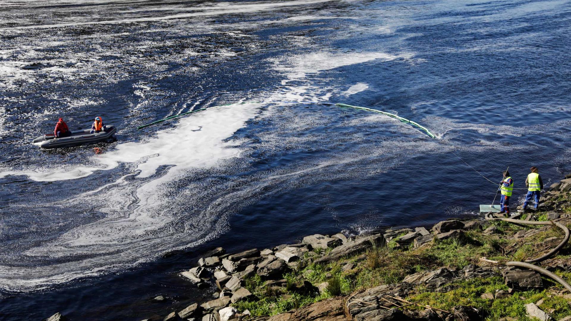 Elementos do inquérito à poluição no rio Tejo estão em segredo de justiça