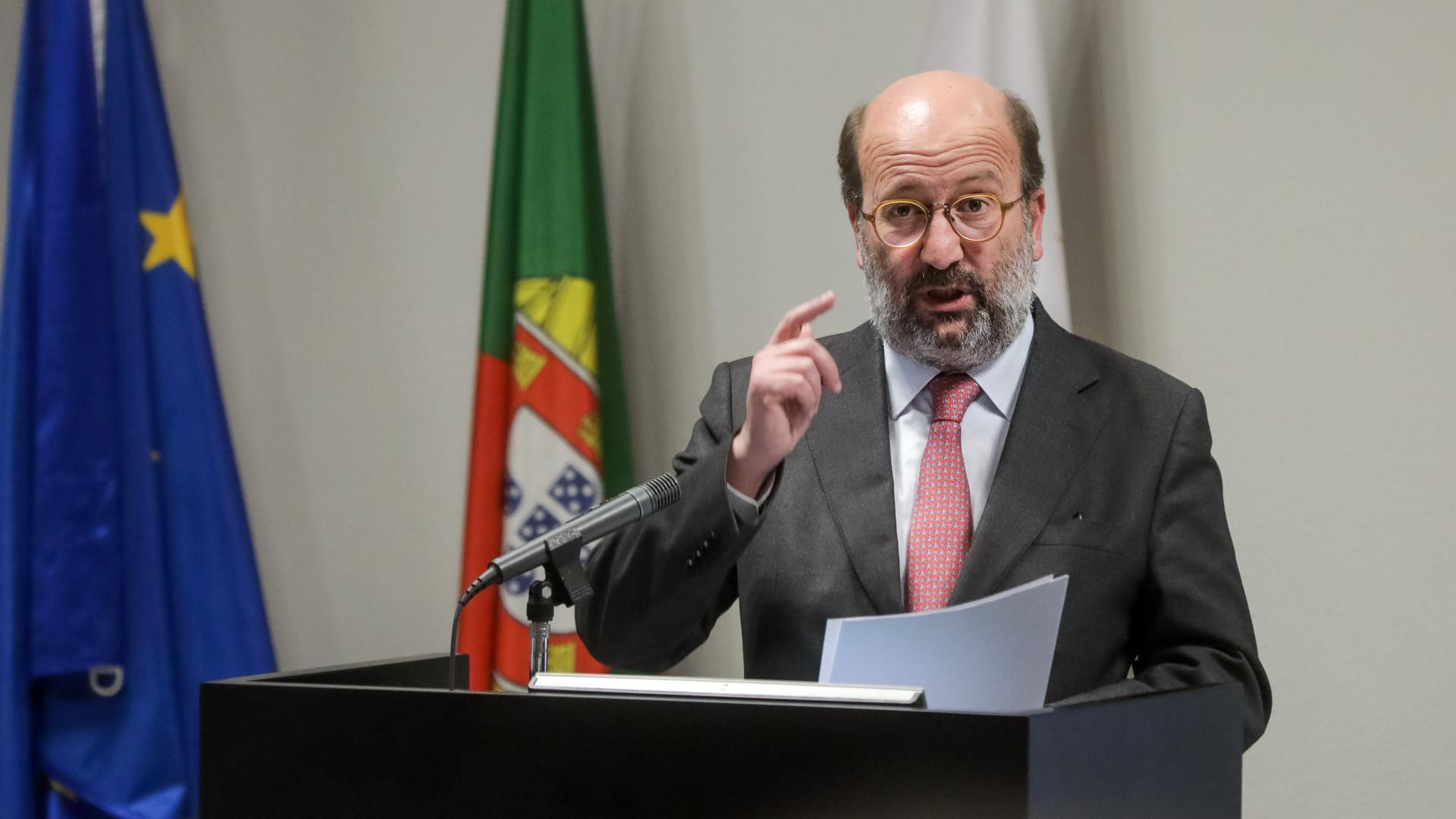 Valores de oxigénio no Tejo já cumprem exigências, diz ministro