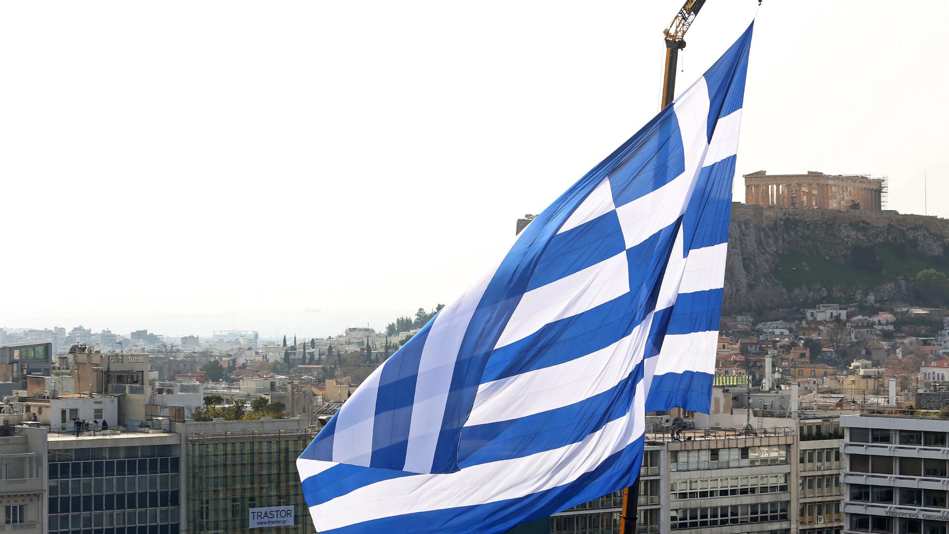 Grécia com excedente primário acima do previsto no 1.º trimestre