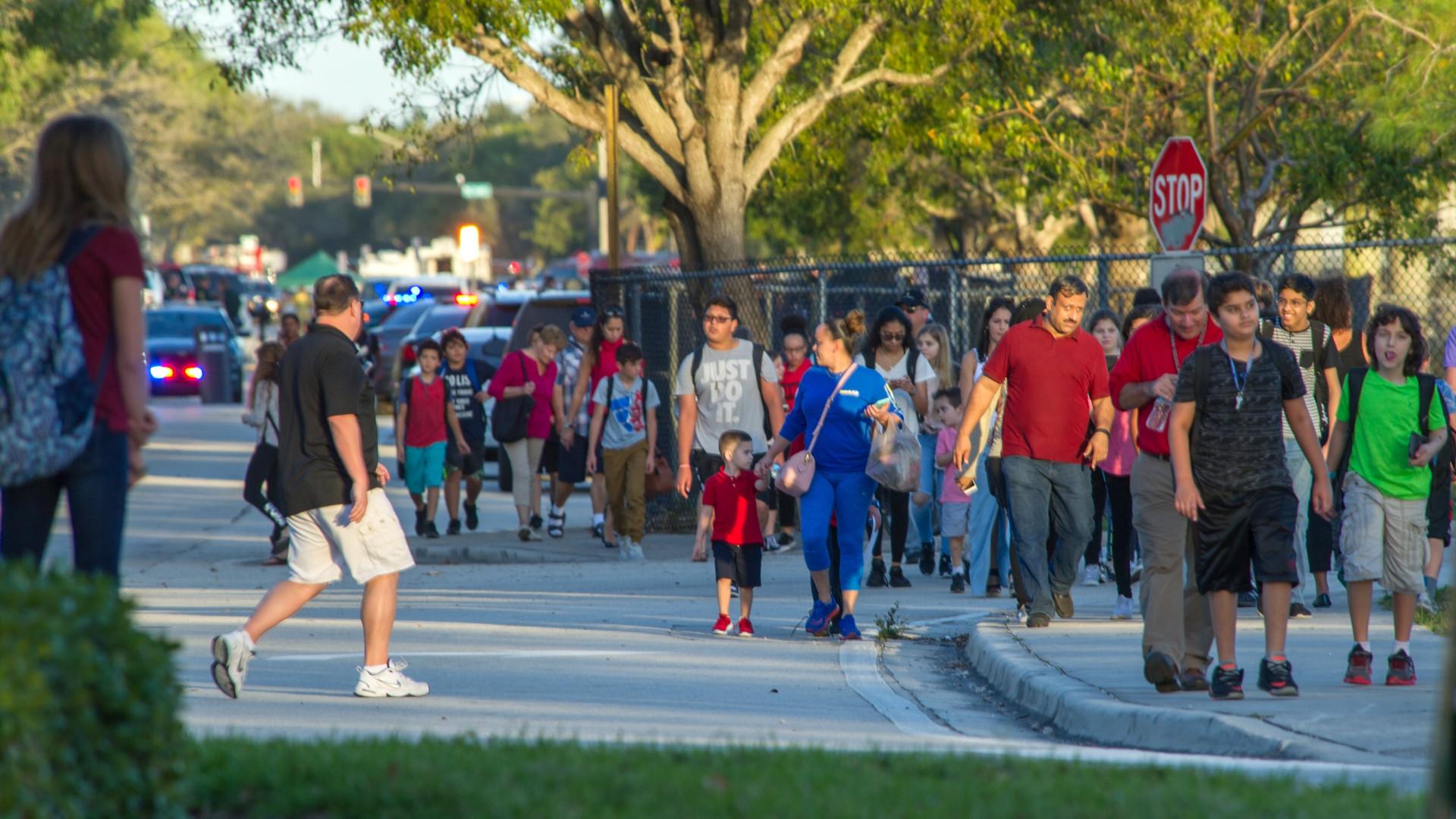 Tiroteio na Florida é o 18.º de 2018 em meio escolar nos EUA