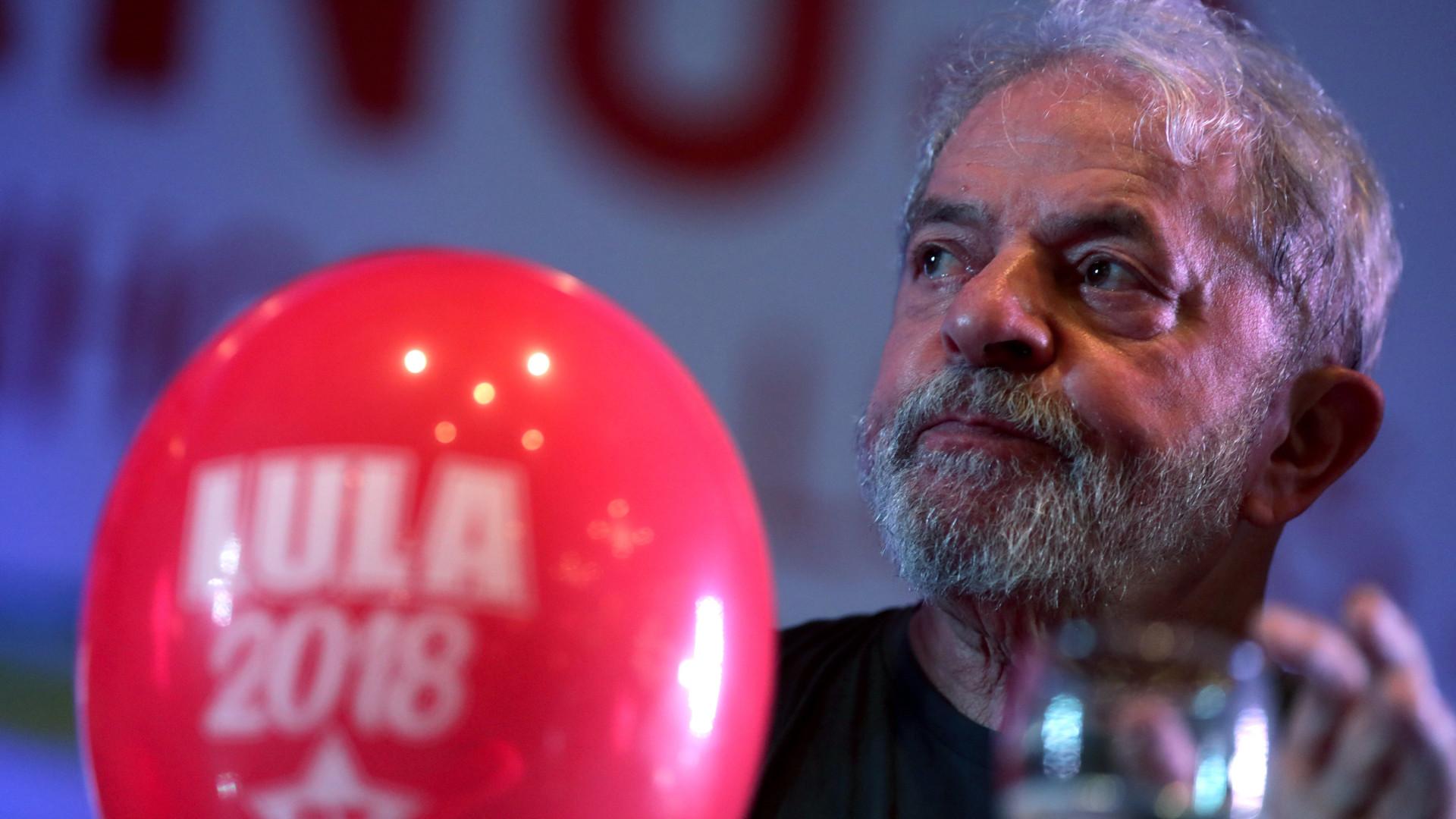 Supremo do Brasil decide amanhã recurso de Lula para impedir a sua prisão