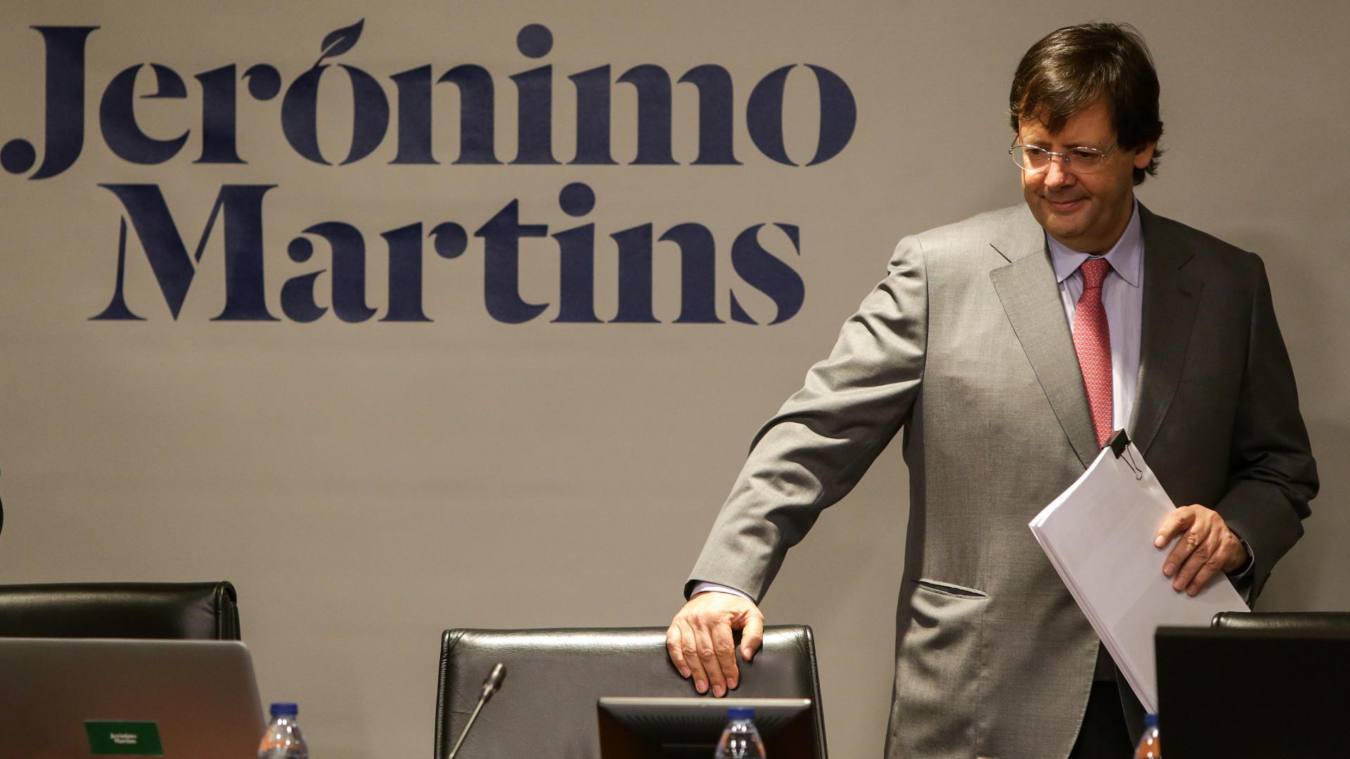 Lucros da Jerónimo Martins sobem para os 85 milhões de euros