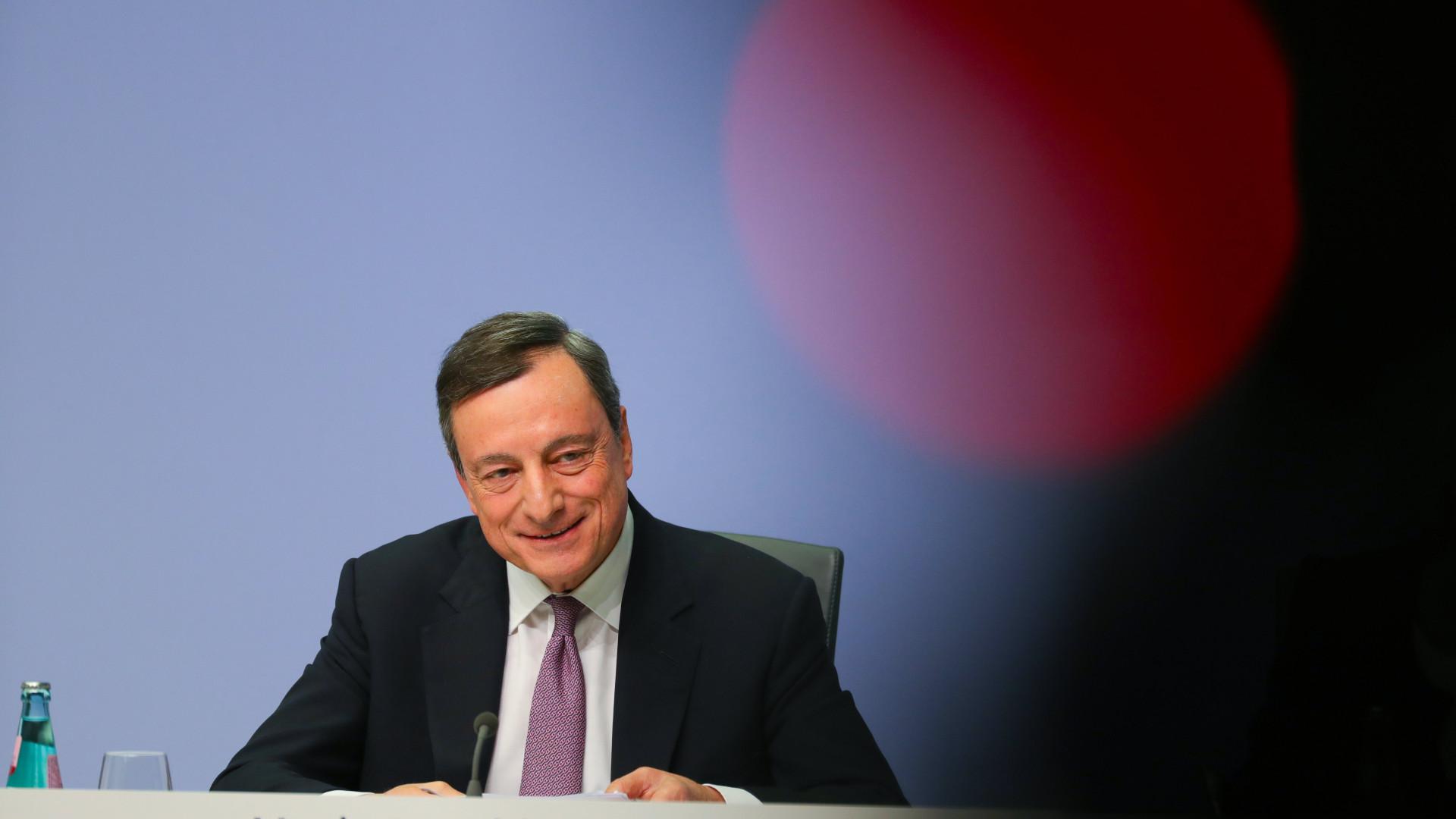 BCE revê em baixa para 1,4% previsão de inflação para 2019 na zona euro