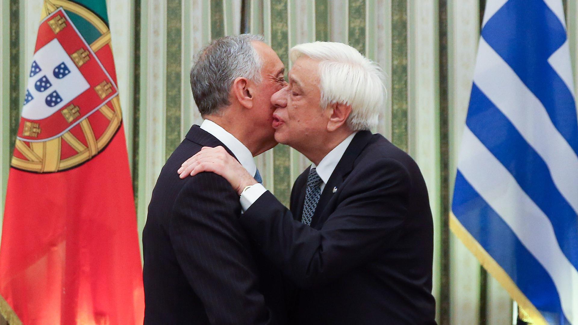 """""""Chego à Grécia com sentimento de confiança e de crença no futuro"""""""
