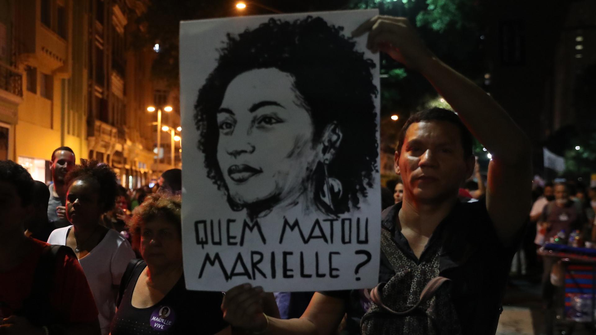 Autoridades supeitam de milícias no homicídio de Marielle Franco