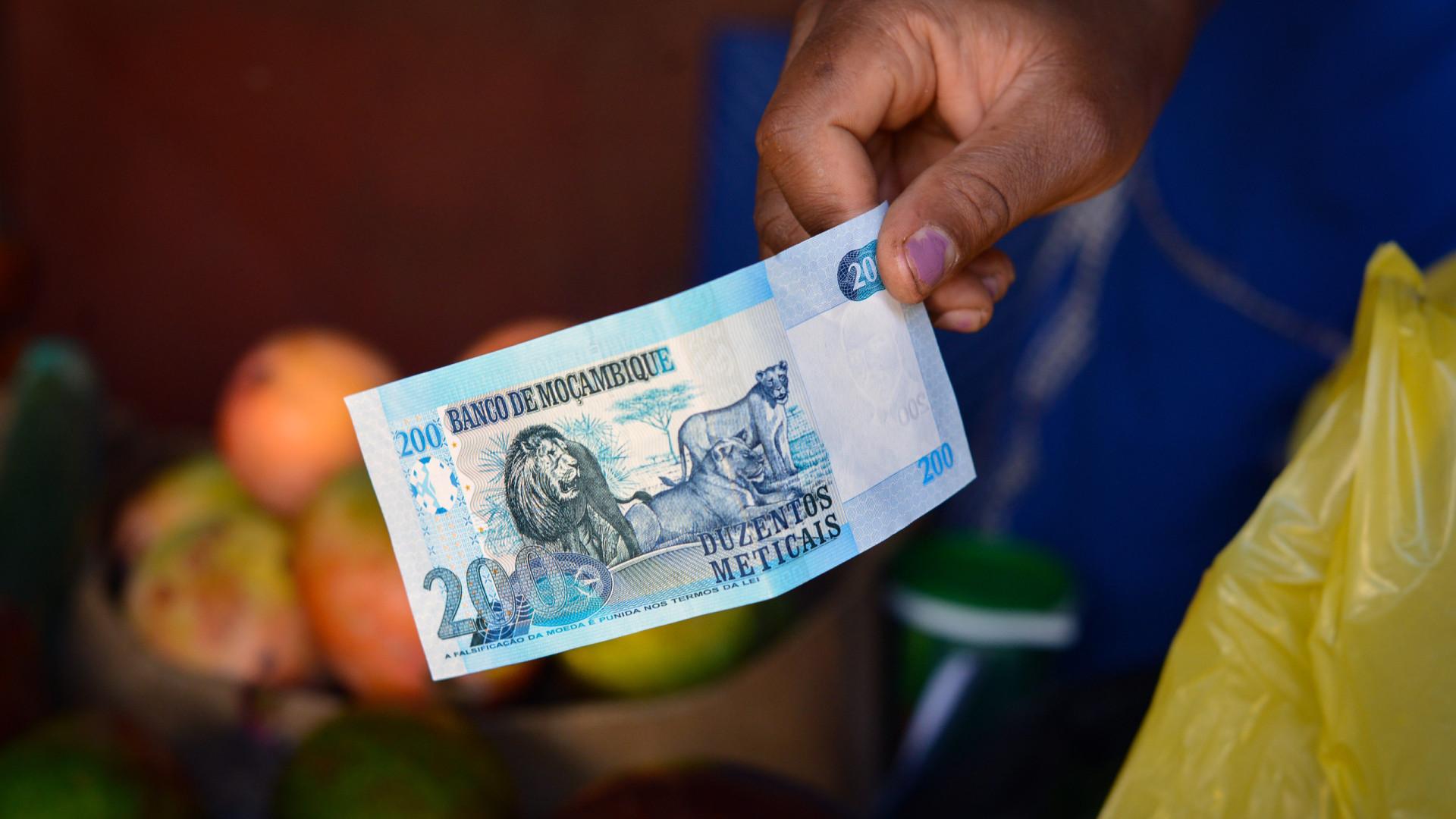 Moeda moçambicana regista perda ligeira face ao euro