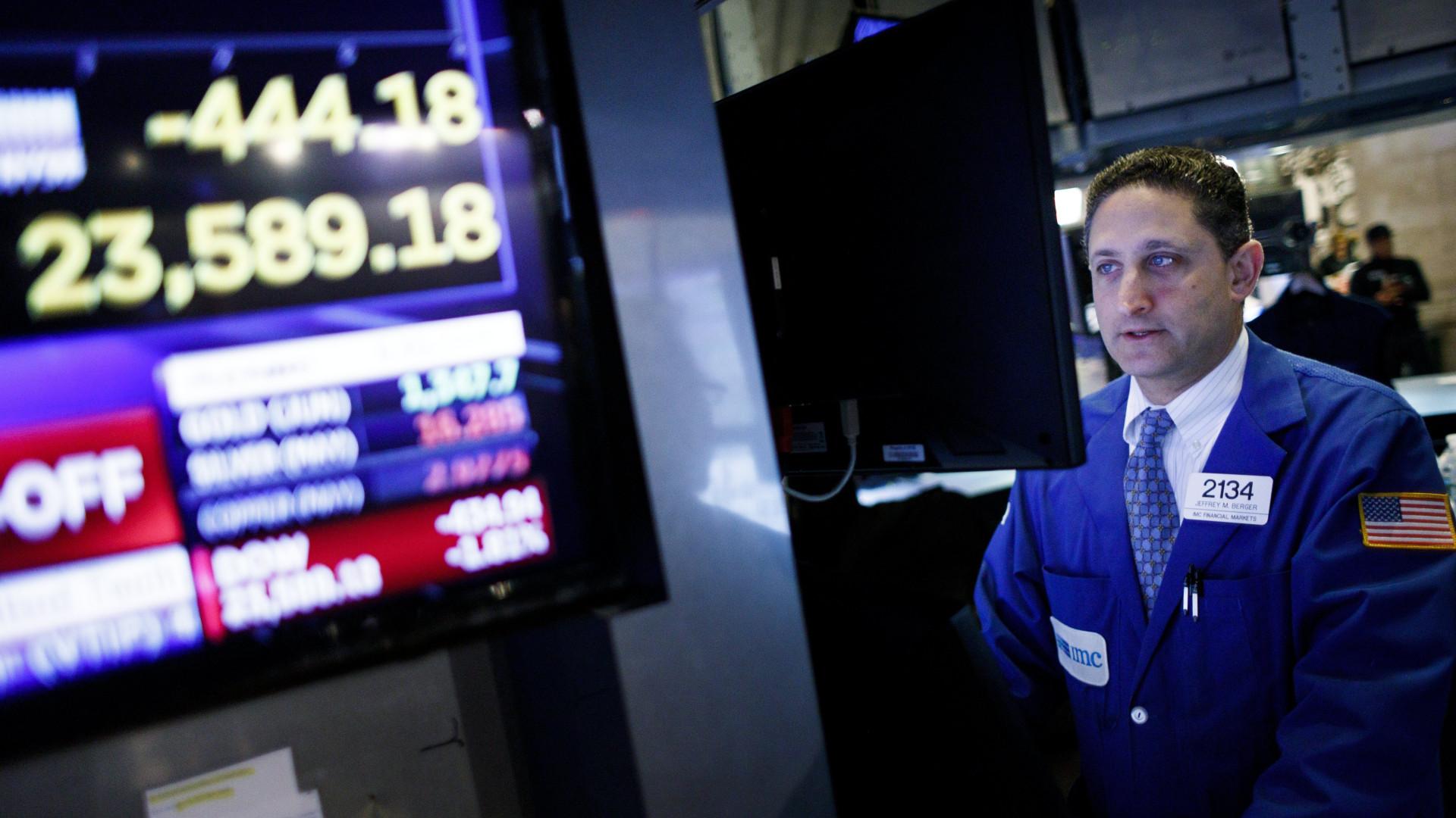 Wall Street fecha em alta com economia a impor-se à geopolítica