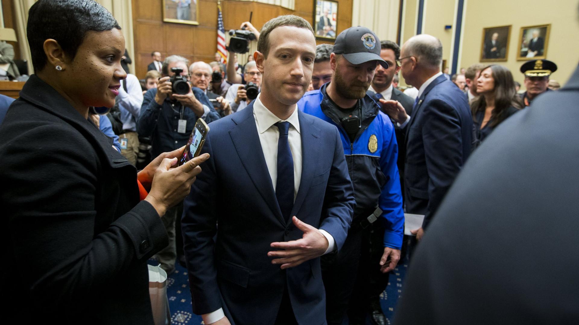 Zuckerberg no Parlamento Europeu para explicar uso de dados pessoais