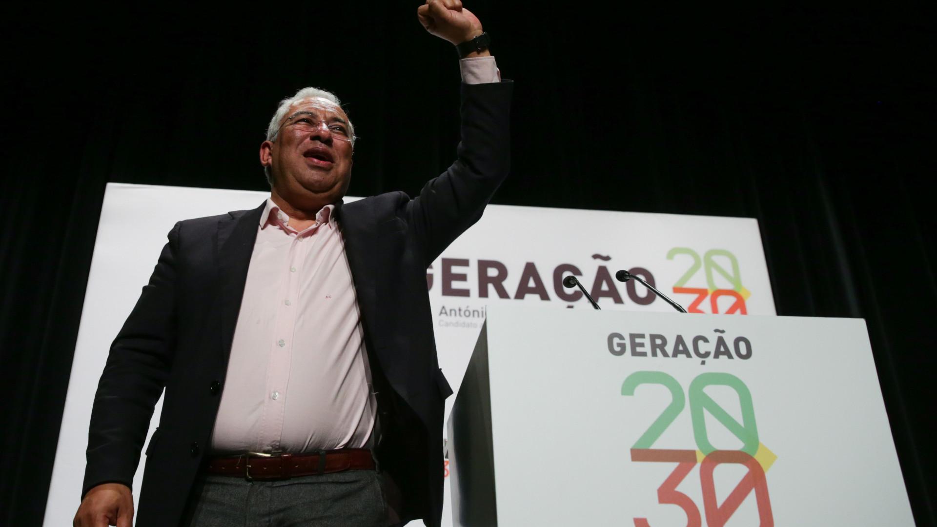 """Costa desafia PS a """"pensar estrategicamente o país a prazo"""""""