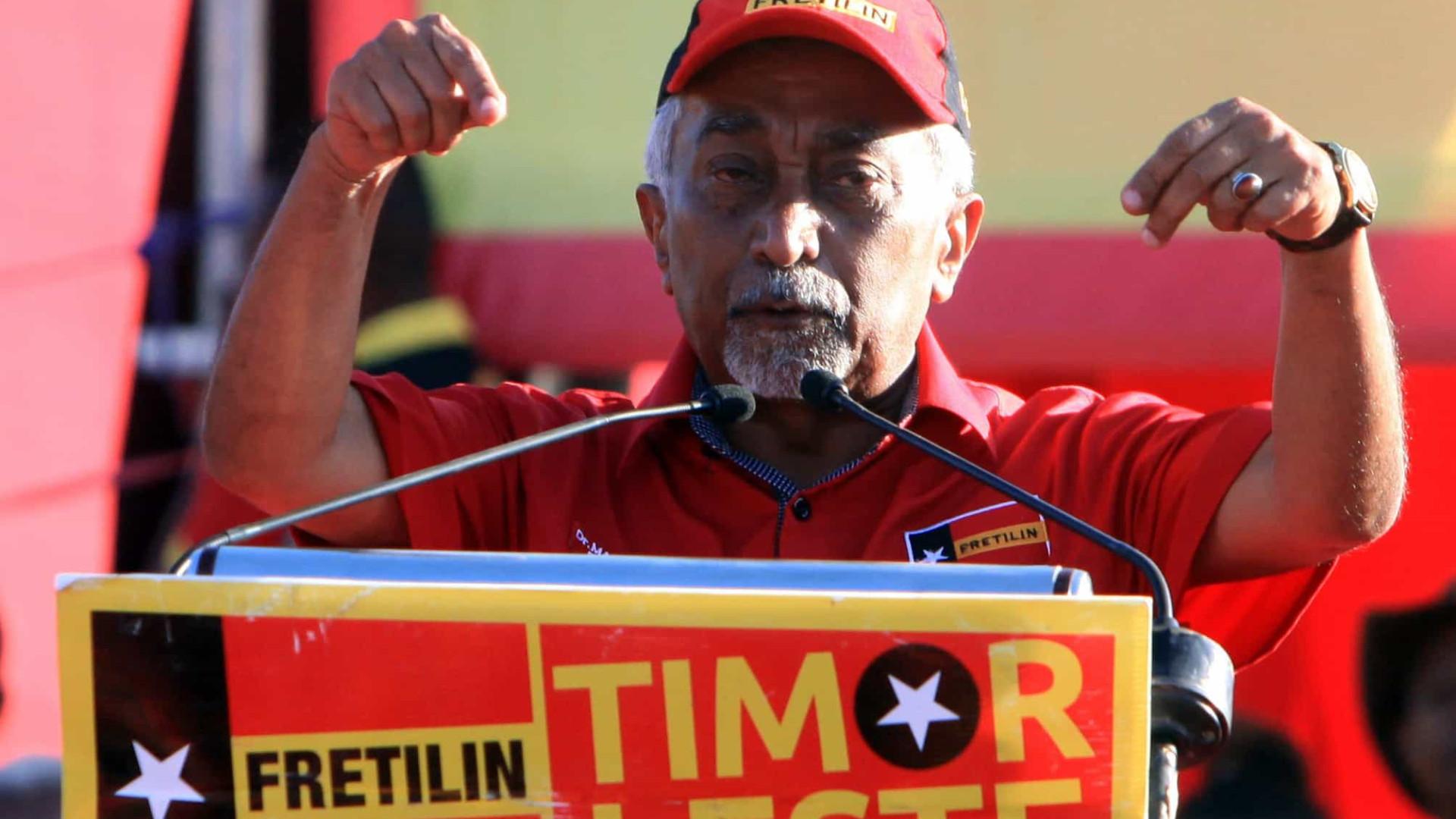 """Fretilin acusa oposição de """"tentativa de pressão"""" sobre Presidente"""
