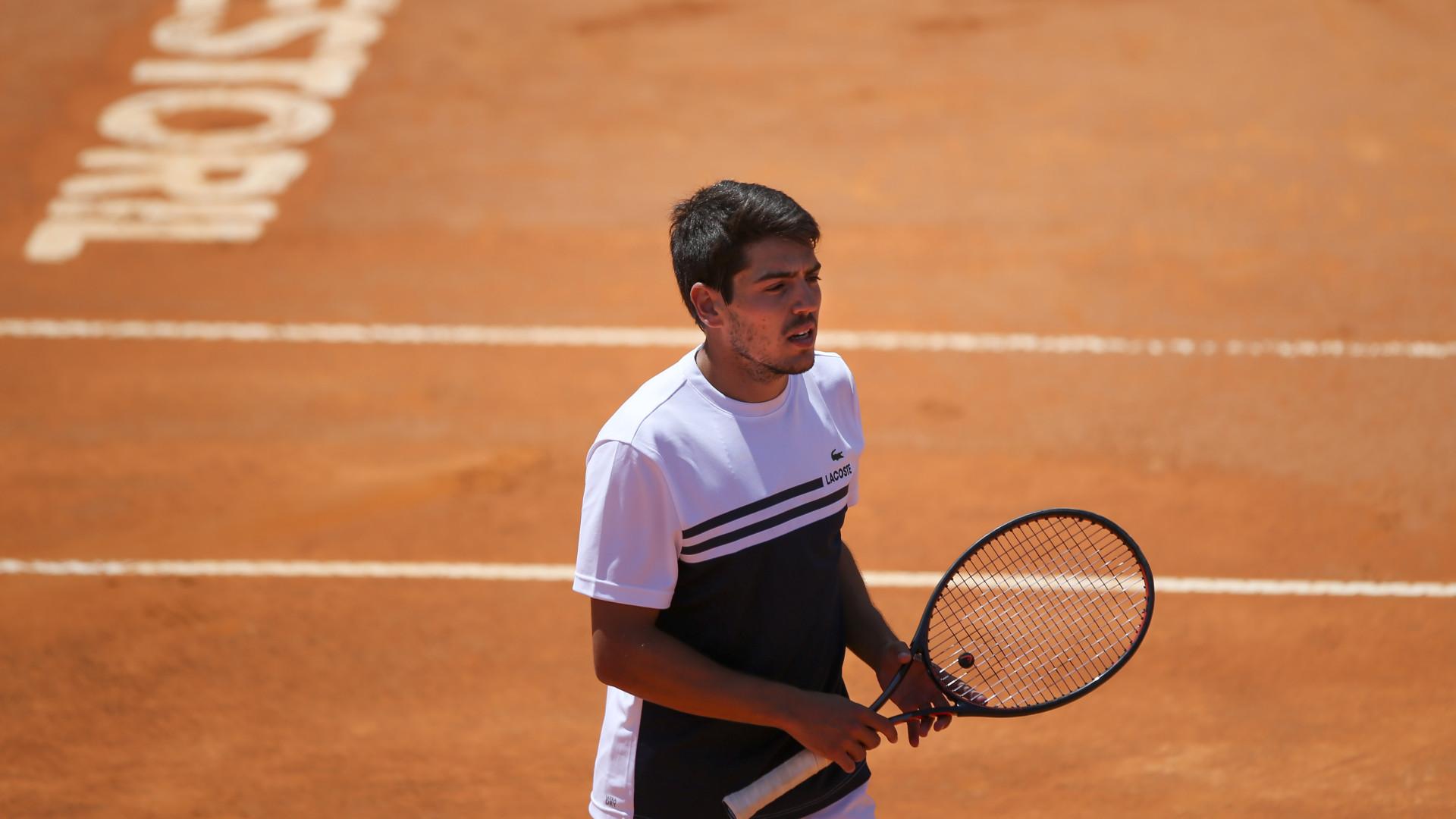 João Domingues eliminado na segunda ronda do 'challenger' de Lyon