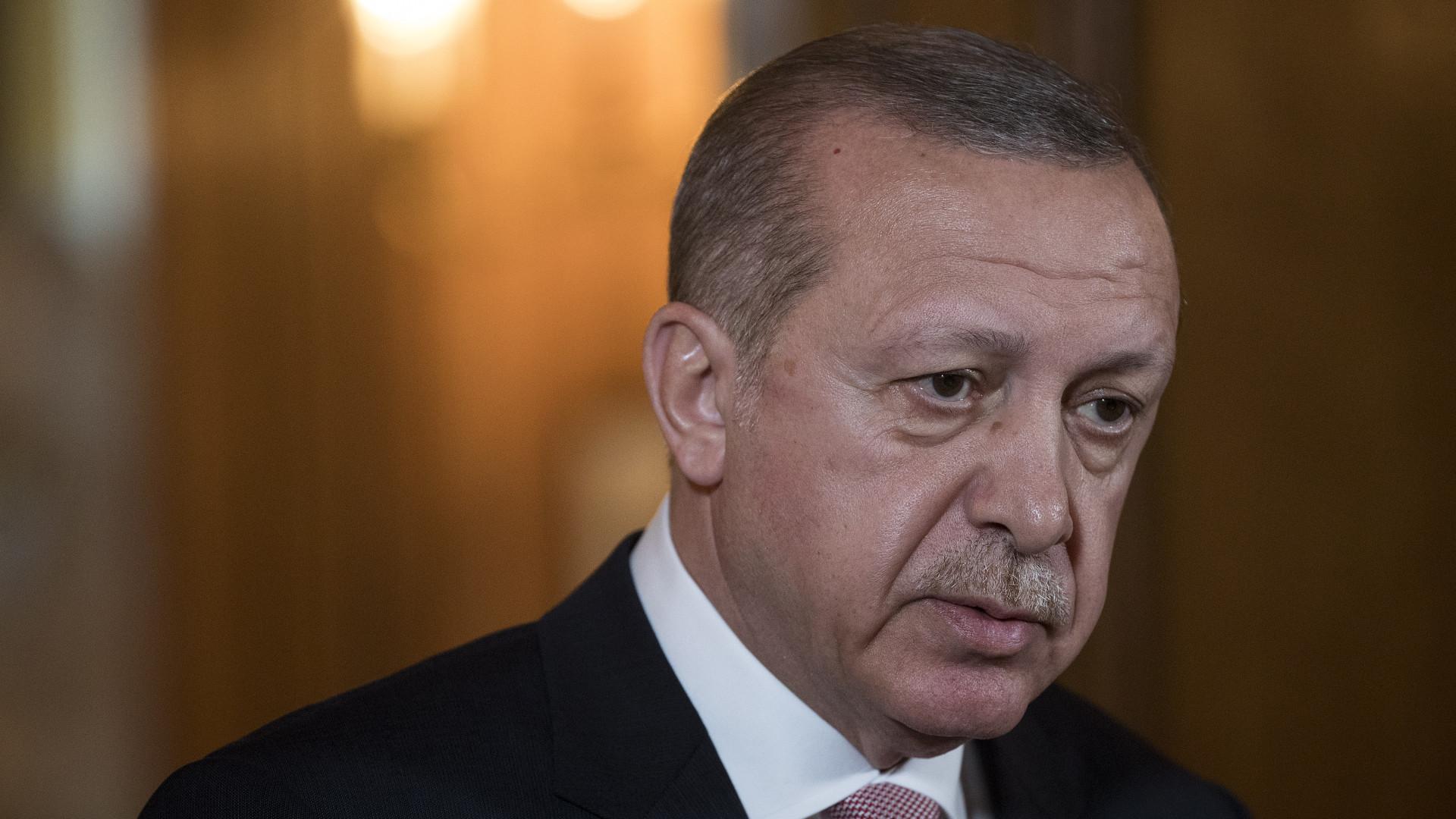 Presidente turco diz que era o alvo de um plano de atentado na Bósnia
