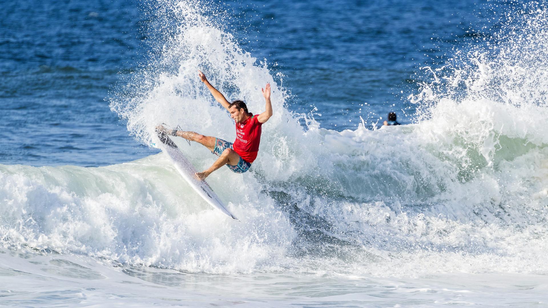 Circuito Mundial De Surf : Surfista frederico morais eliminado na etapa de bali do