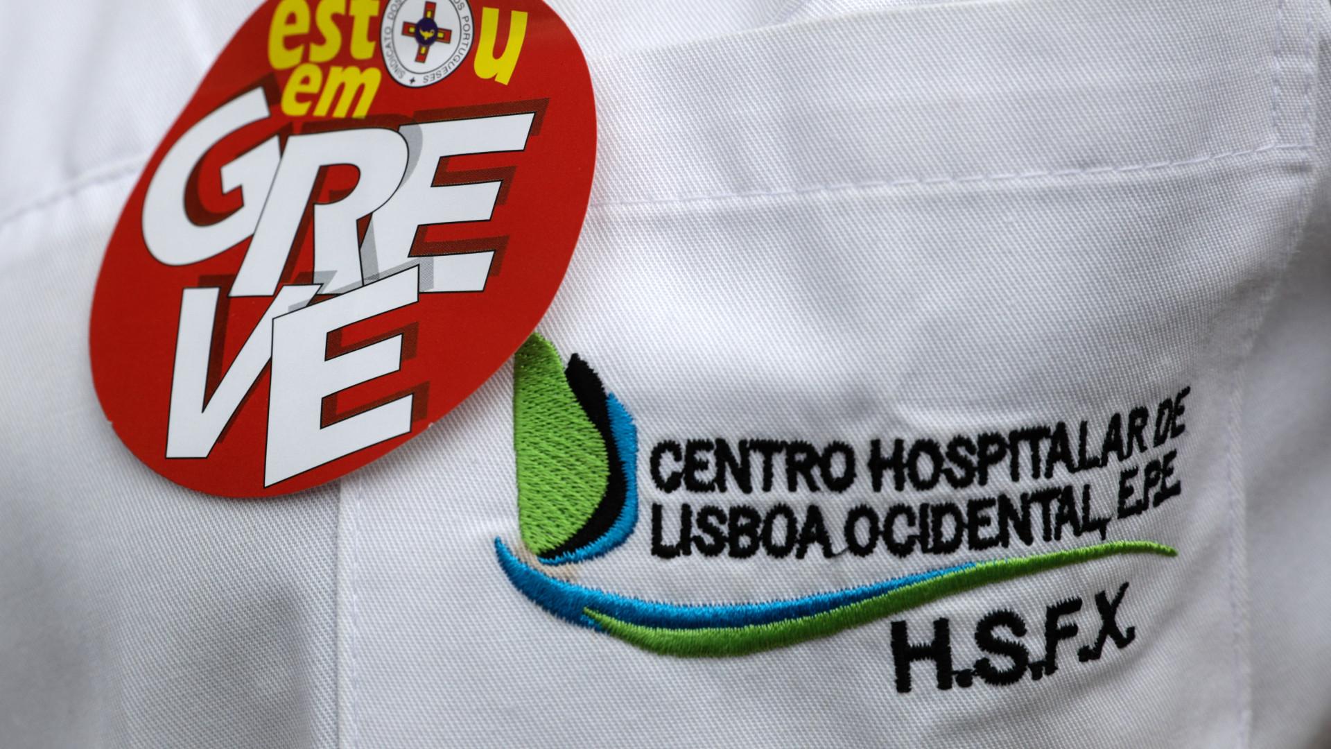 Greve dos enfermeiros com adesão entre os 83% e os 96%