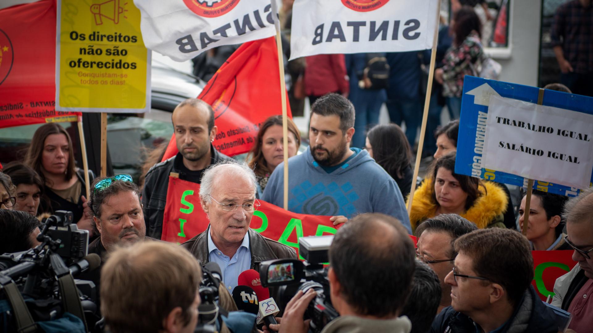 CGTP adverte Governo que vai intensificar luta nas empresas e nas ruas