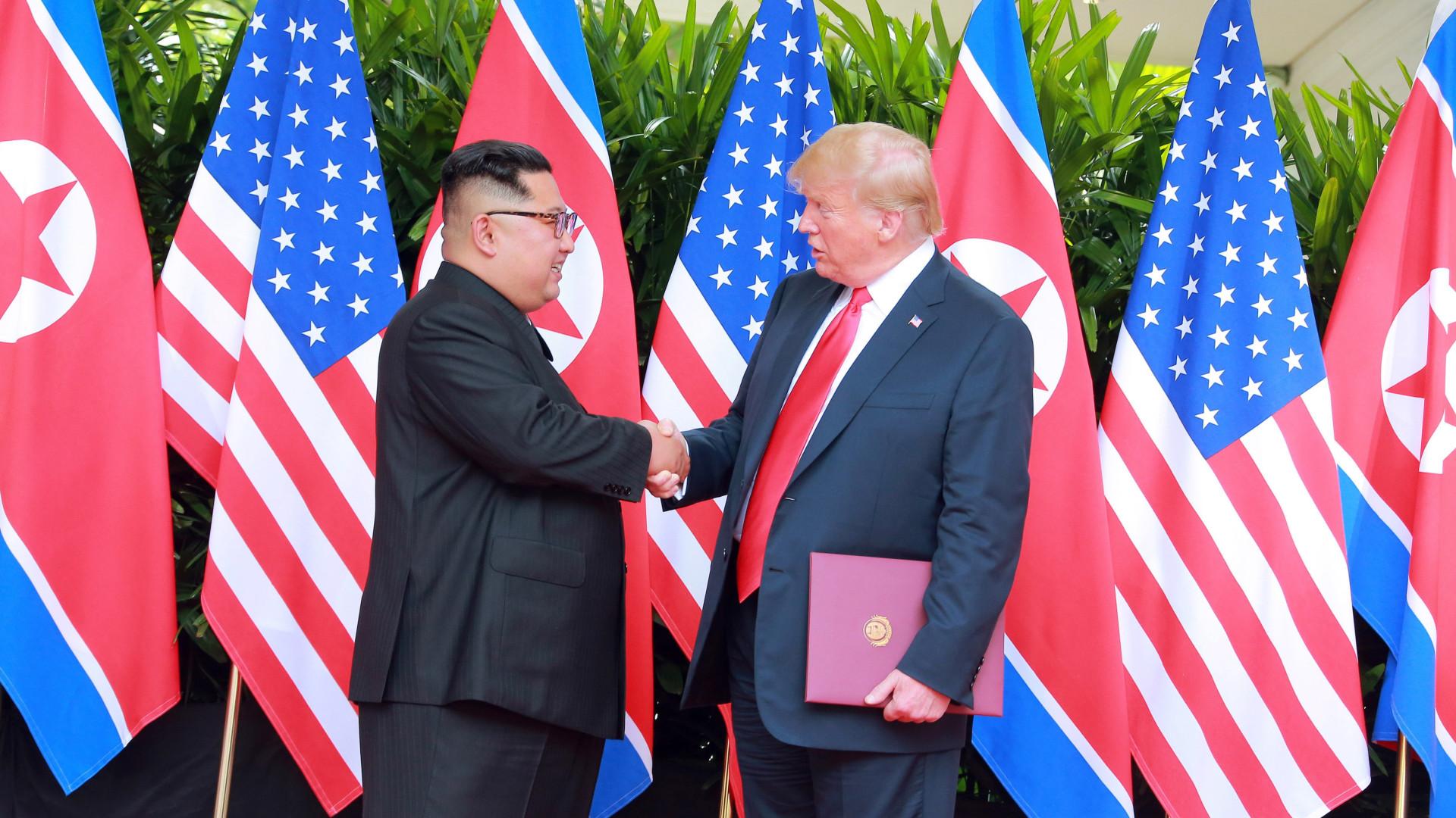 Trump e Kim convidaram-se para visitar respectivos países