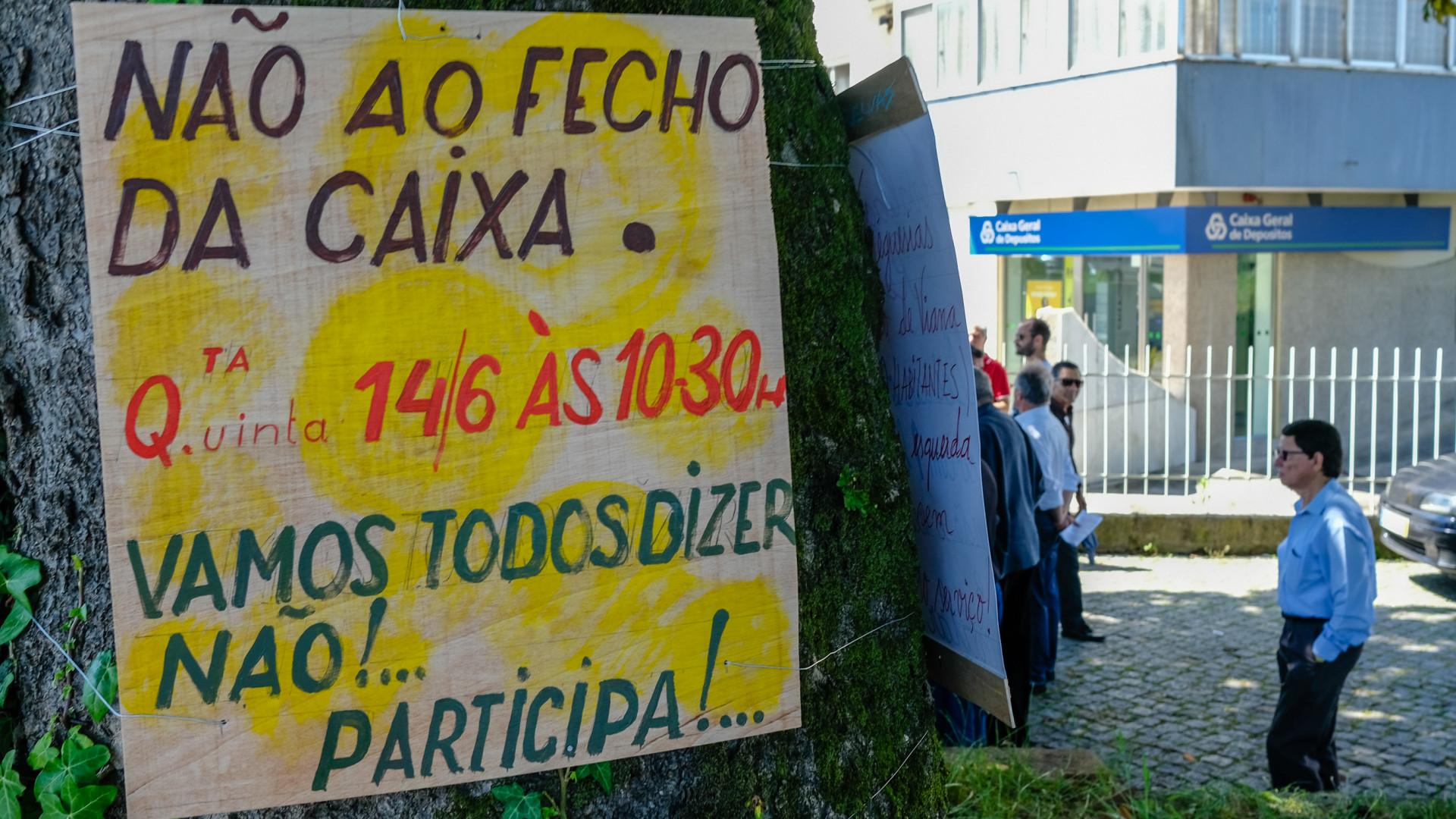 Empresários de Viana dizem que fecho da CGD de Darque é erro estratégico