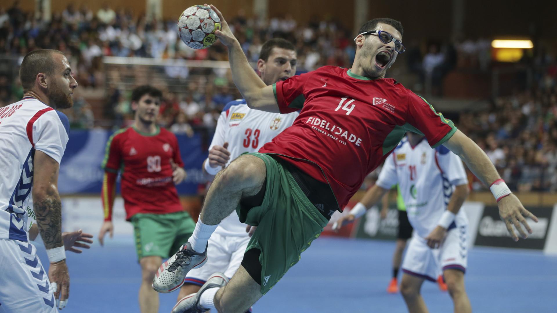 Portugal empata com a Sérvia e fica fora do Mundial de andebol