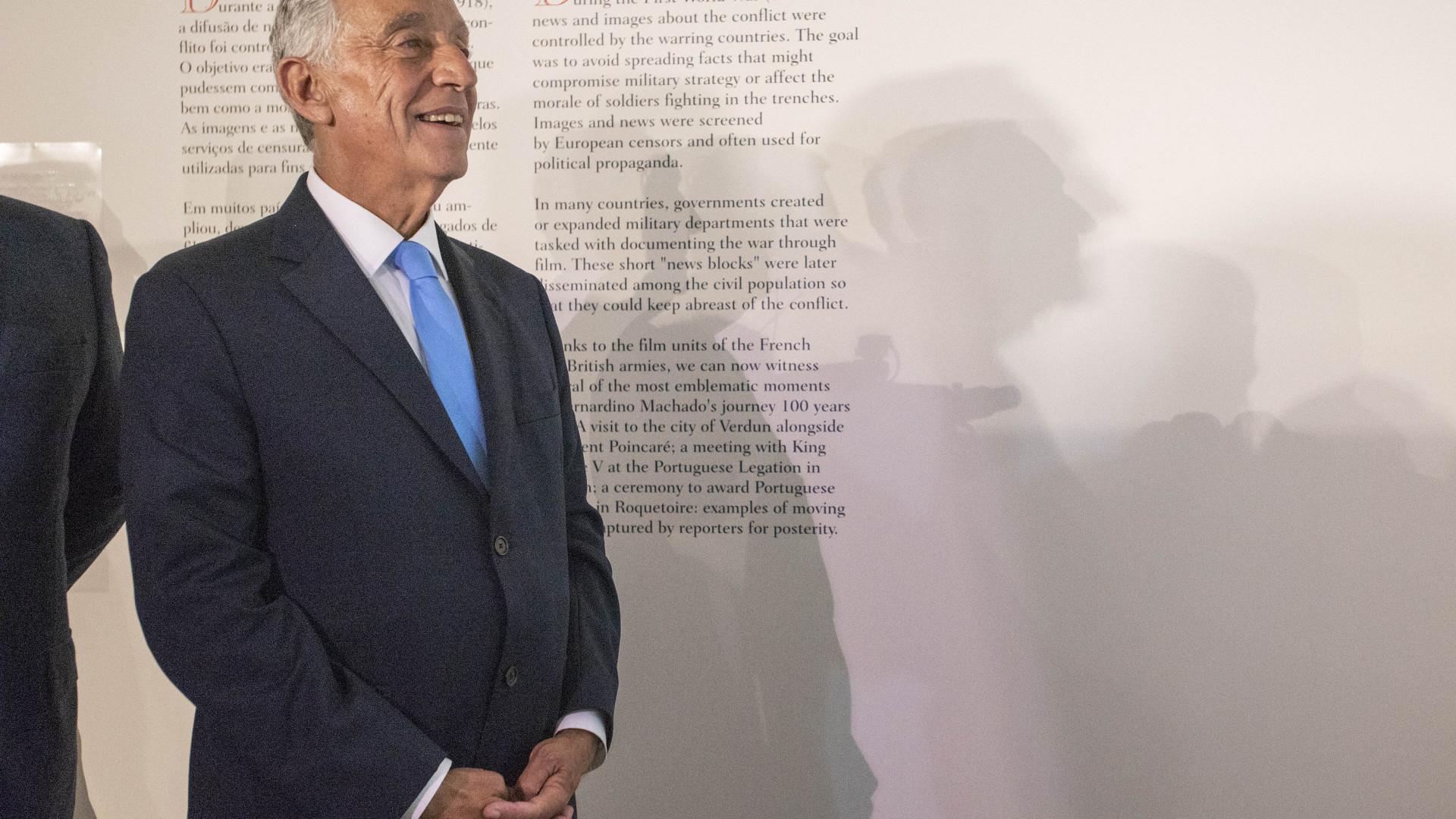 Marcelo não se encontrou com Obama por incompatibilidade de agendas