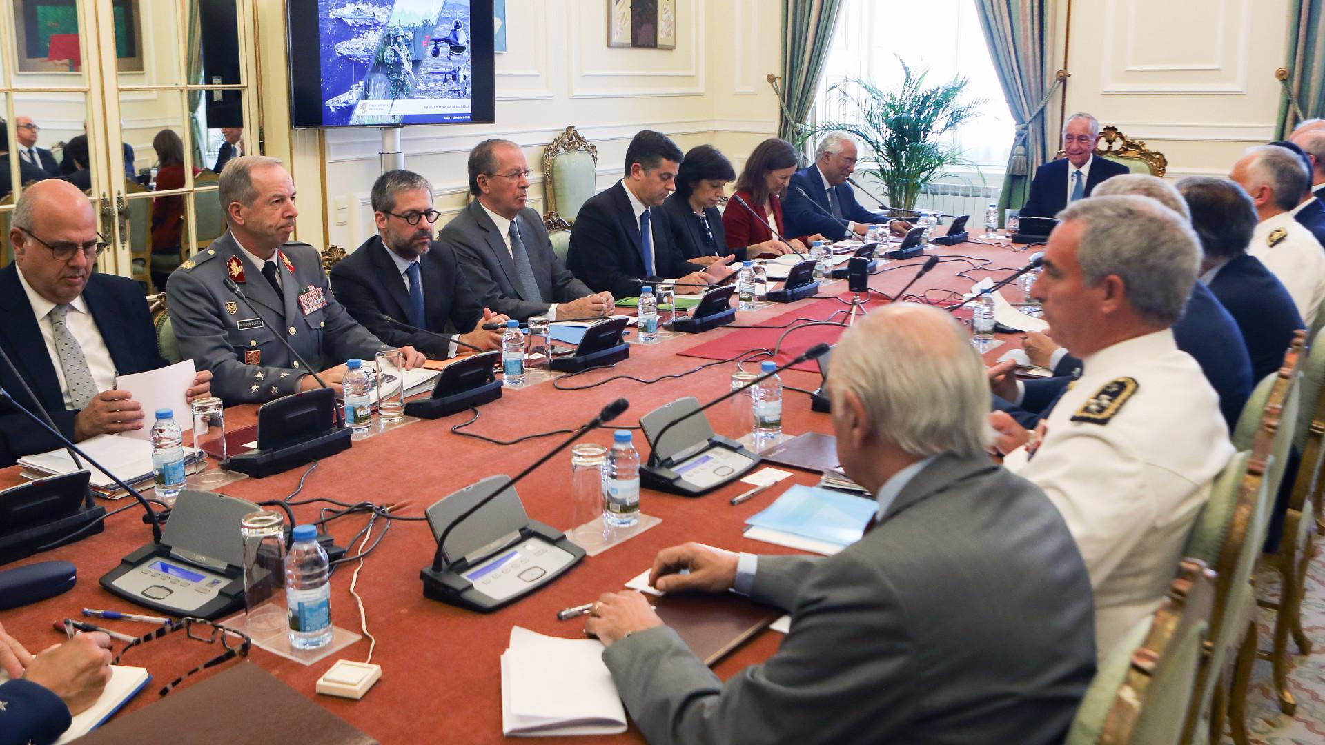 """Conselho Superior de Defesa deu """"especial relevo"""" à cimeira da NATO"""
