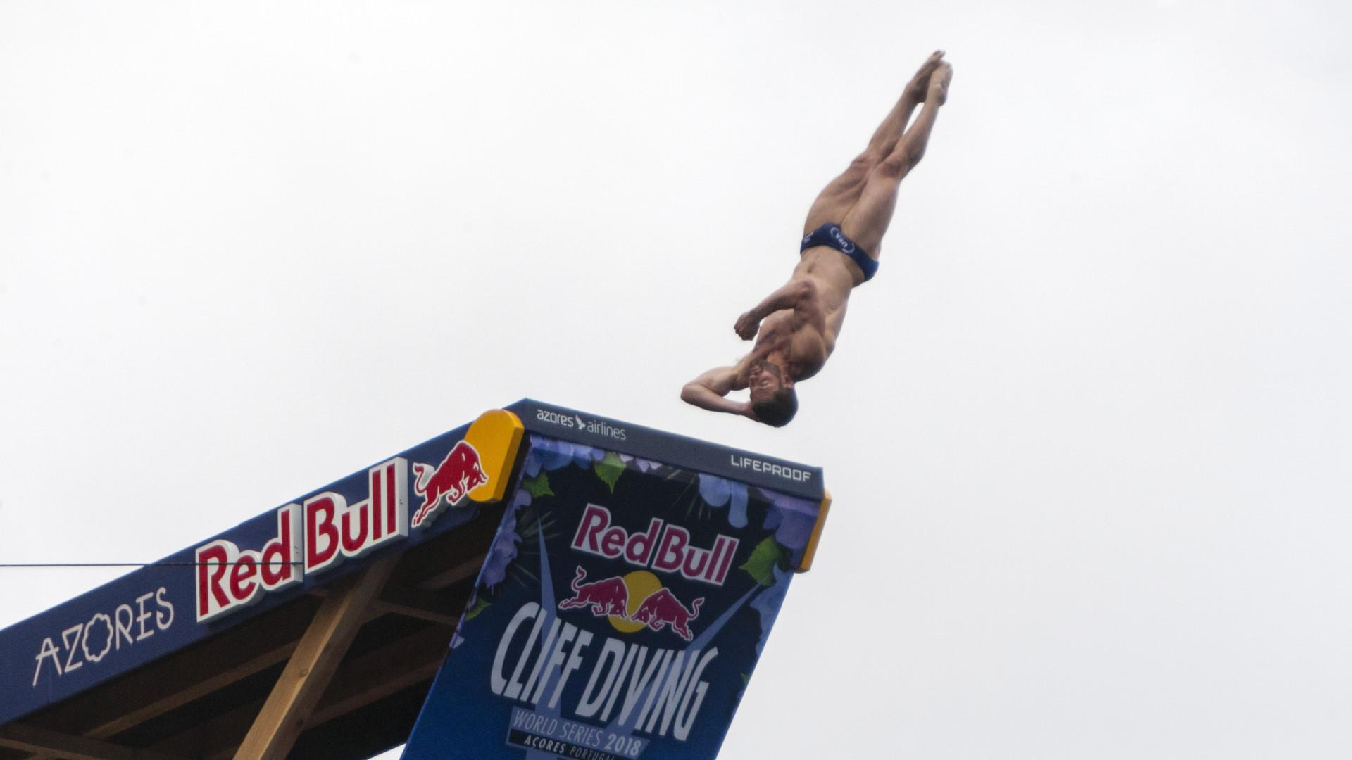 'Red Bull Cliff Diving' regressa aos Açores em 21 e 22 de junho