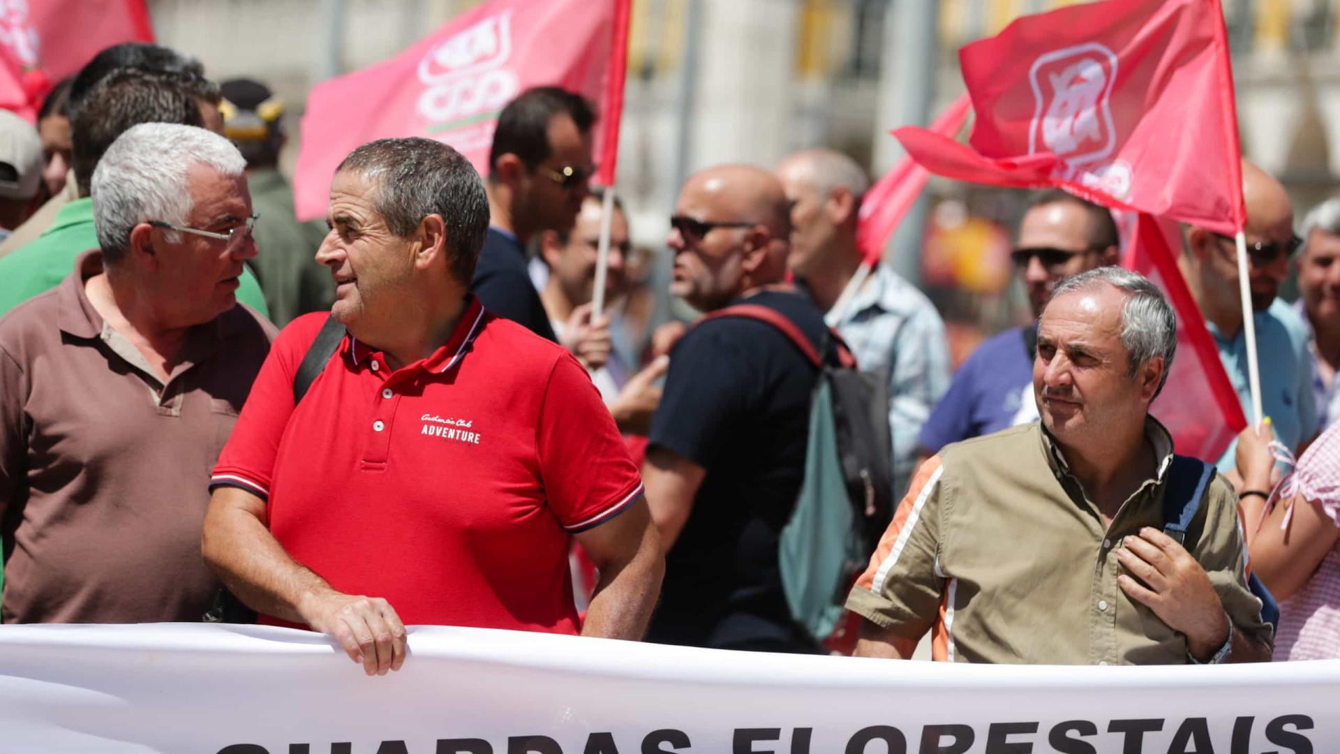 Três dias de greve dos guardas-florestais com adesão entre os 50 e os 70%