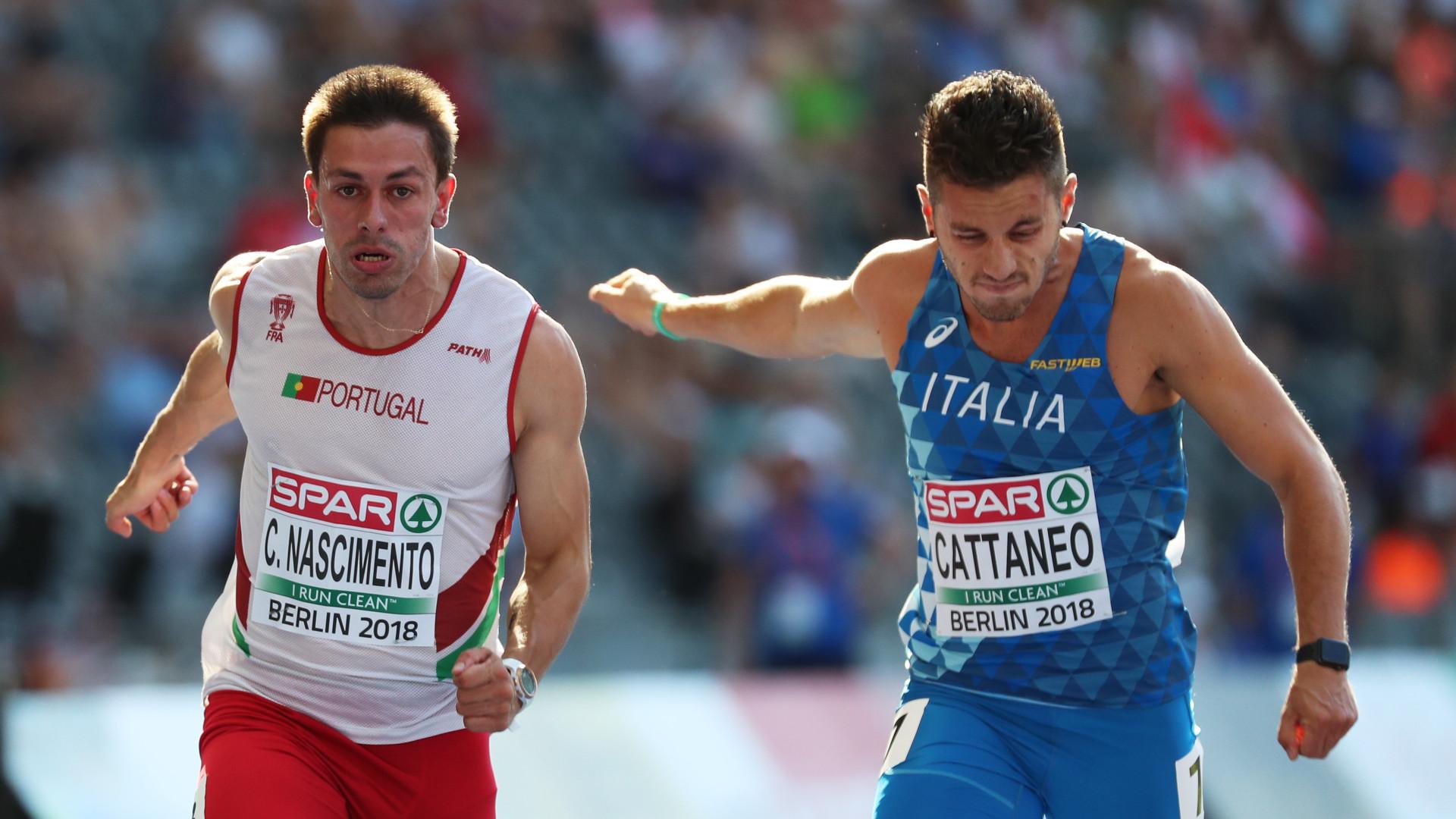 Estafeta de Portugal na final dos 4x100 metros dos Europeus
