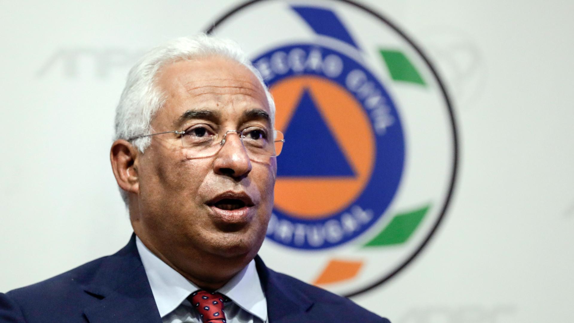 António Costa desloca-se a Monchique esta tarde