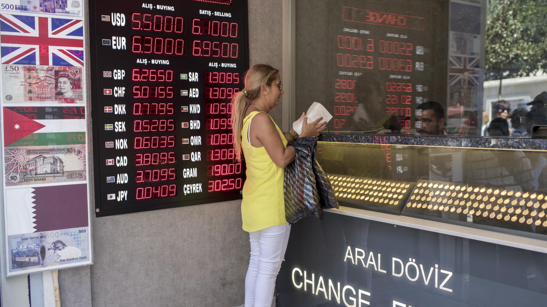 Plataforma chinesa de viagens Ctrip suspende pagamentos em lira turca