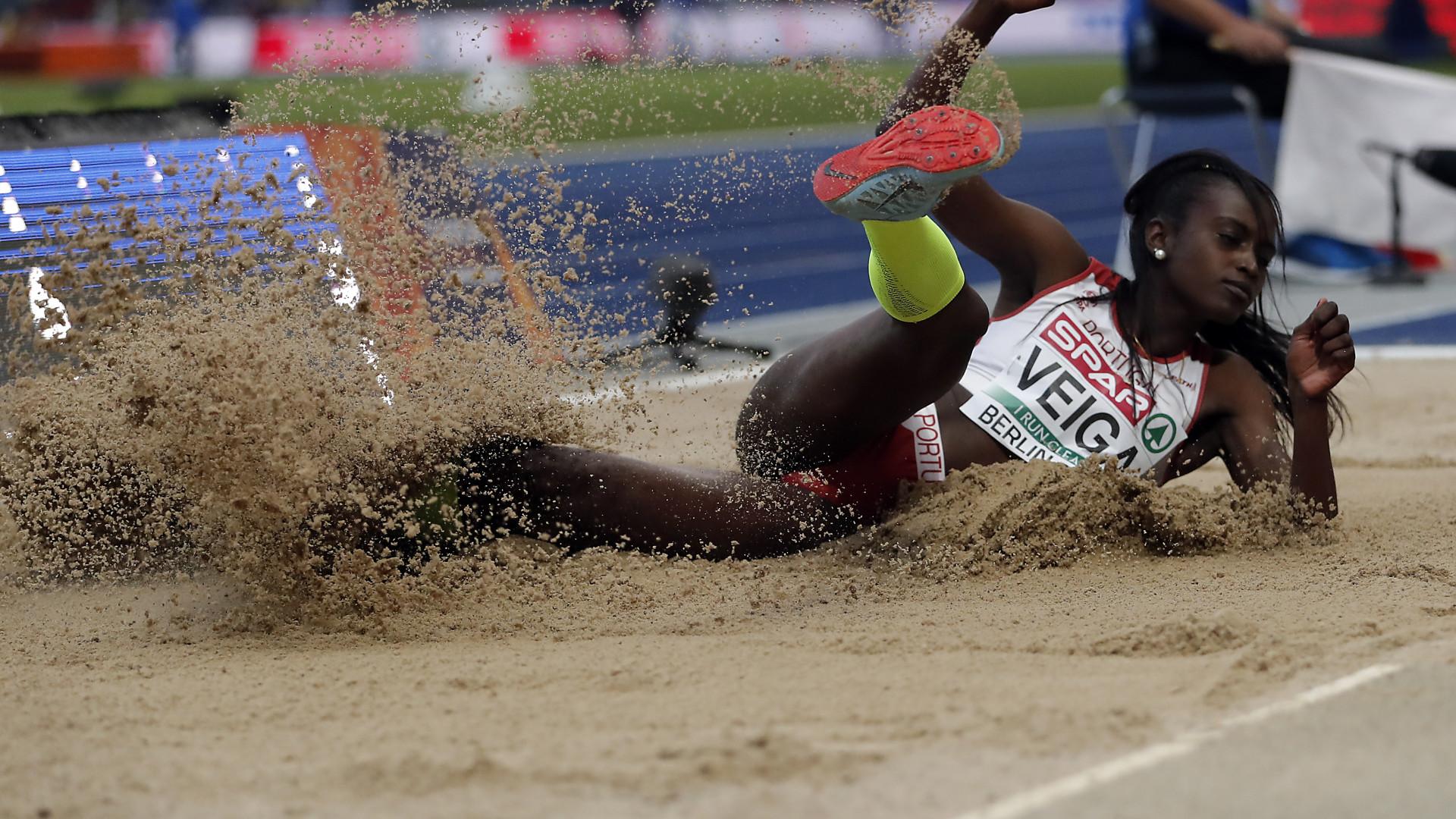 Evelise Veiga oitava no comprimento nos Europeus de Atletismo