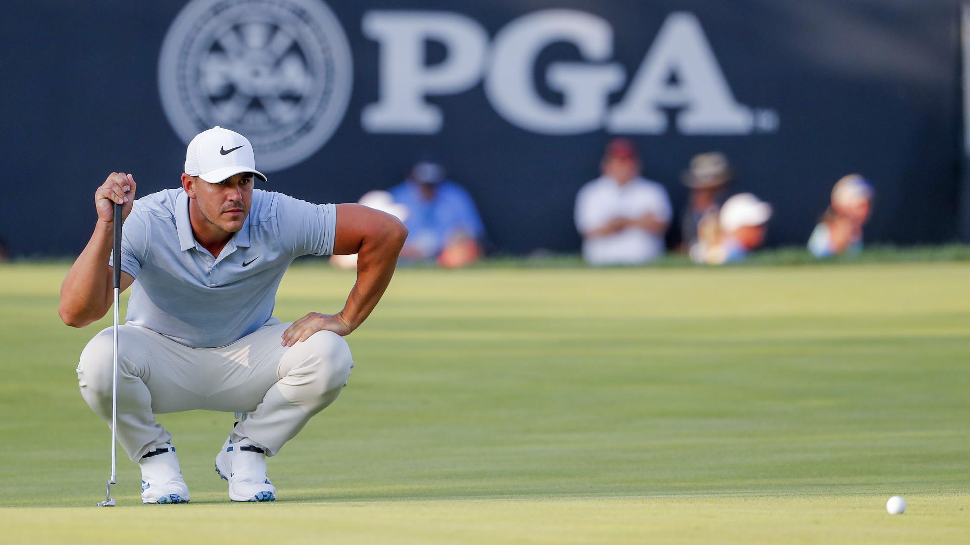 Koepka lidera PGA Championship, Tiger Woods entra na luta pela vitória
