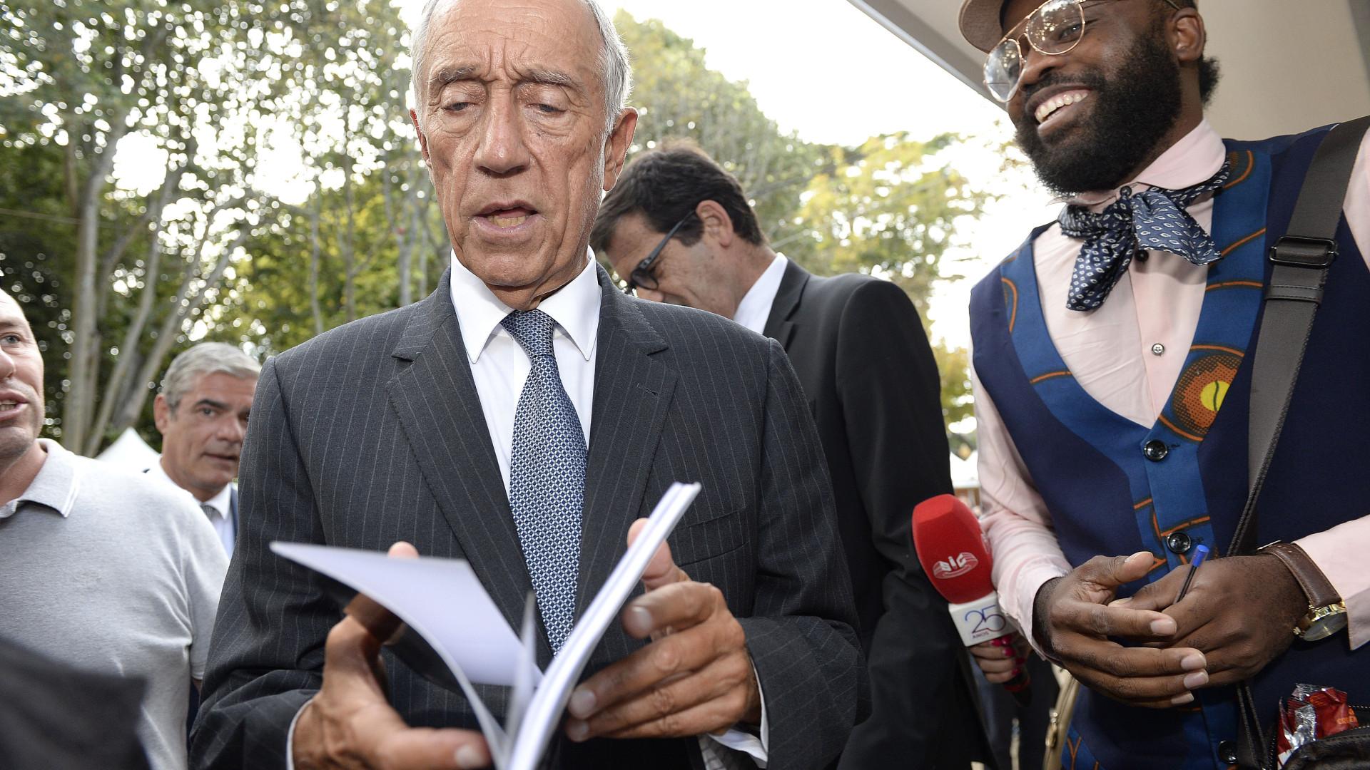"""Marcelo diz que """"vale a pena esperar"""" pelo orçamento na área da saúde"""