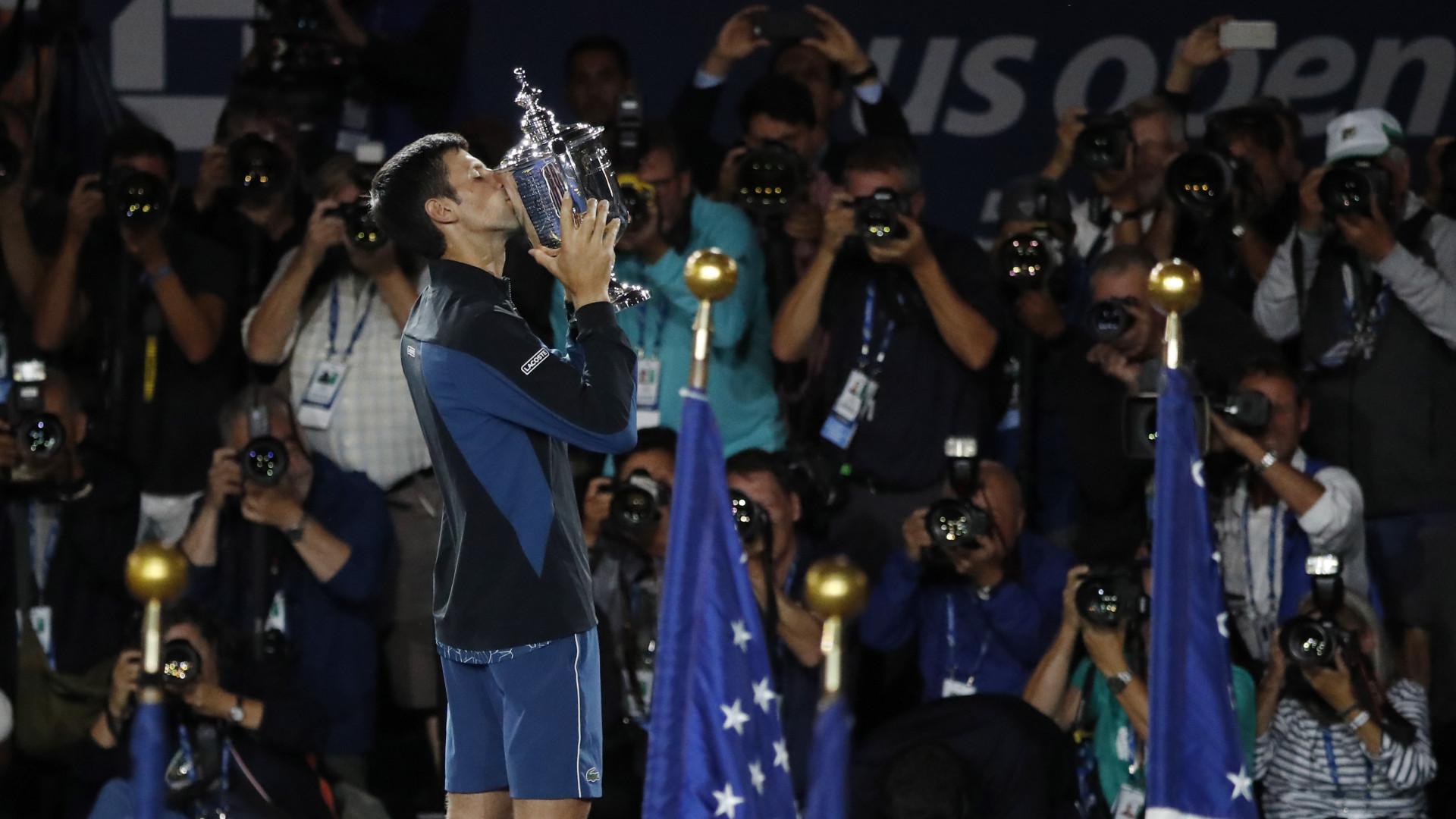 Djokovic vence Del Potro e faz o 'tri' no US Open