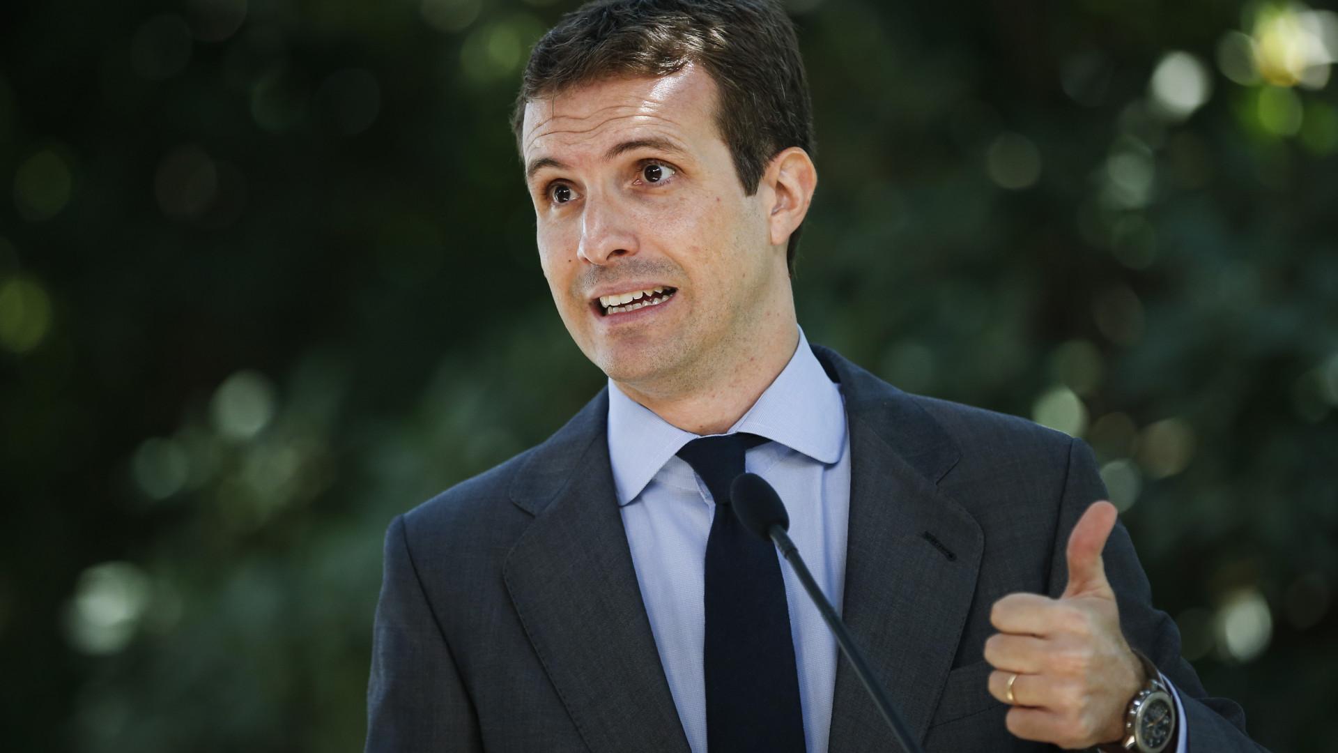 Líder do PP espanhol quer relançar TGV entre Lisboa e Madrid