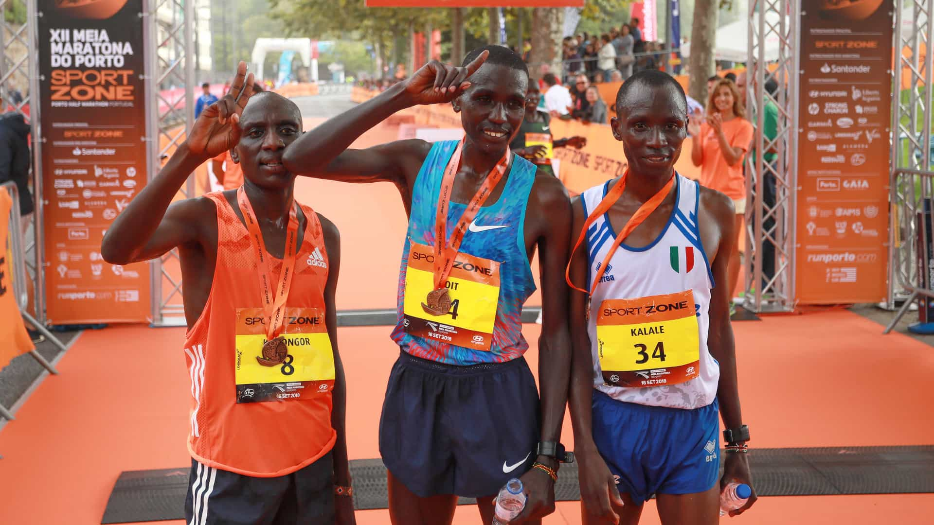 Atletas quenianos dominam 12.ª Meia Maratona do Porto