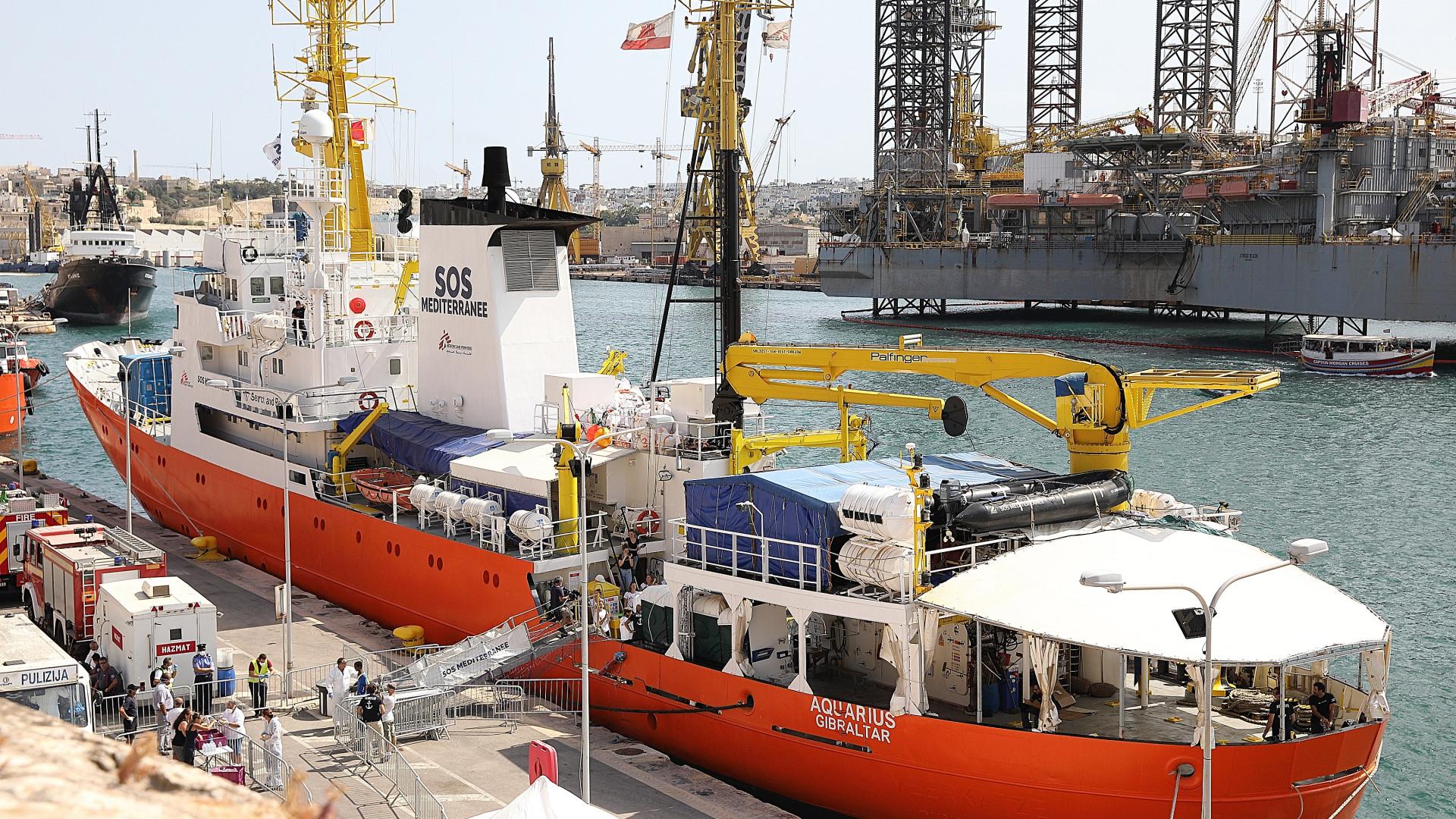 ONU pede opções claras para desembarque de migrantes resgatados