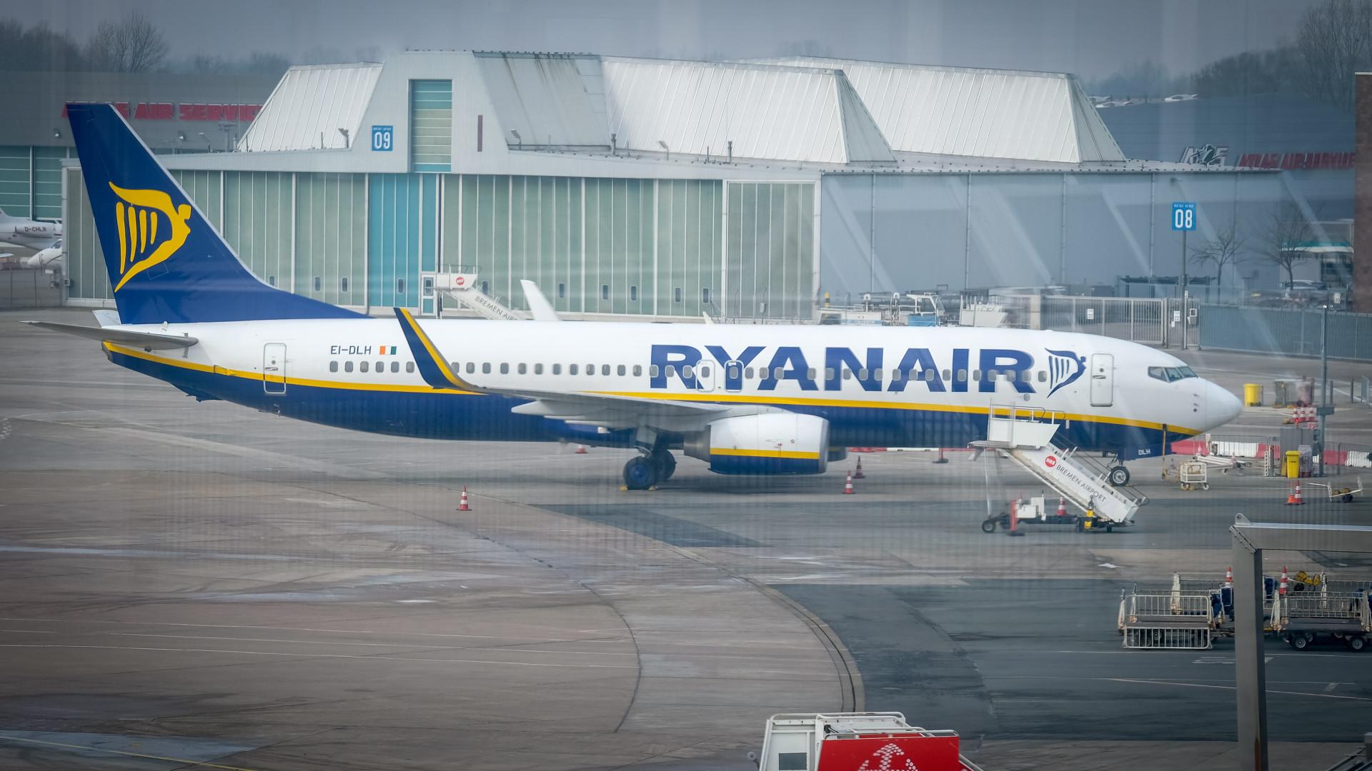 Ryanair pagou divida de 5.500 euros para travar penhora de avião no Porto