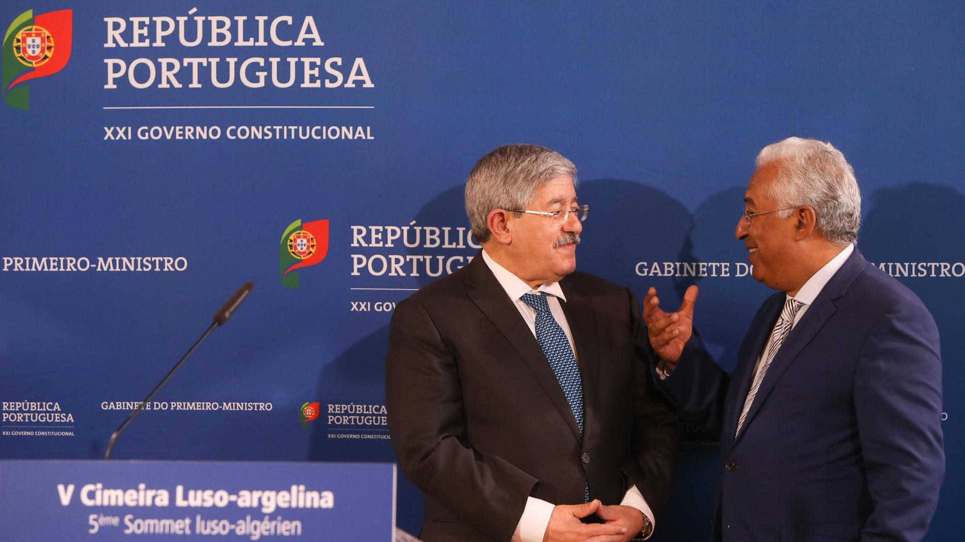 Portugal e Argélia têm condições económicas para relançar cooperação