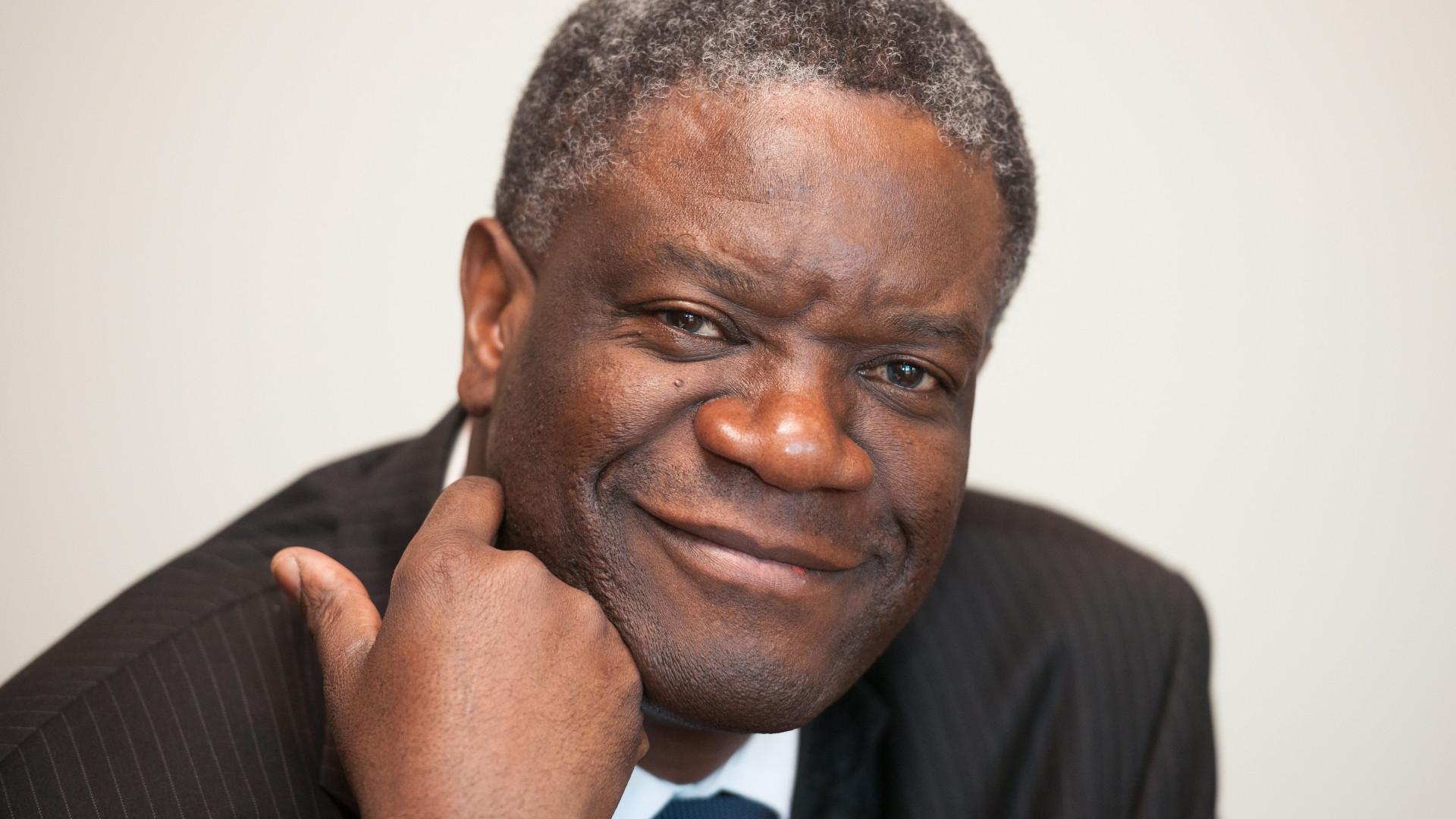 Mukwege estava a operar quando soube que venceu o Nobel da Paz