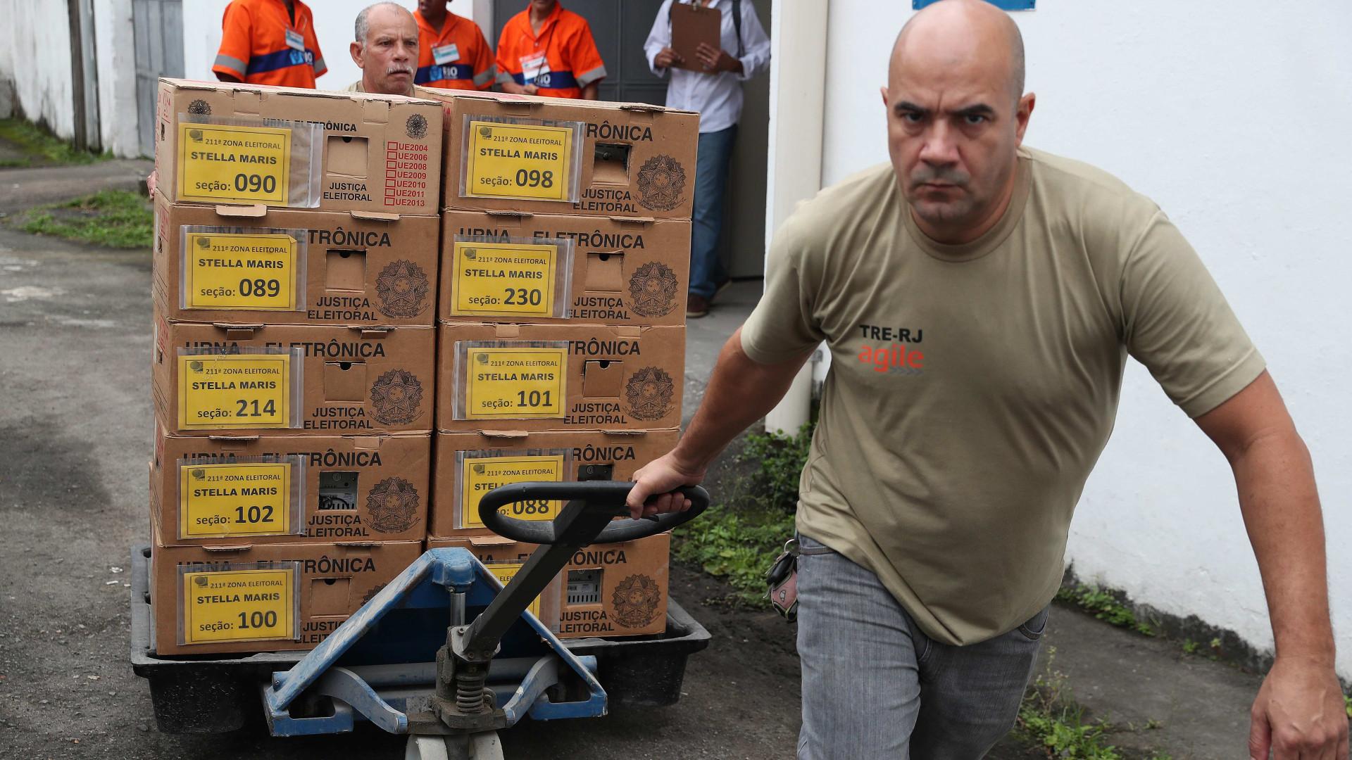 Total de 147 milhões de eleitores decidem hoje futuro do Brasil