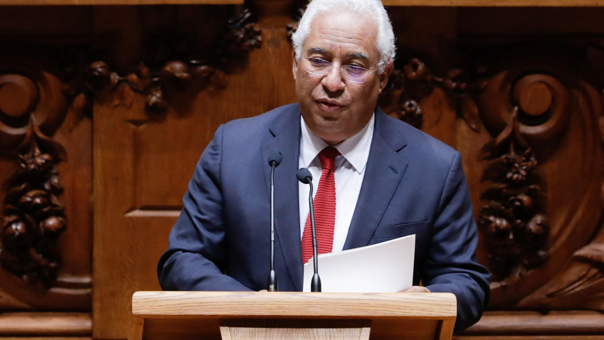 Costa promete melhorar rendimentos das famílias e incentivos das empresas
