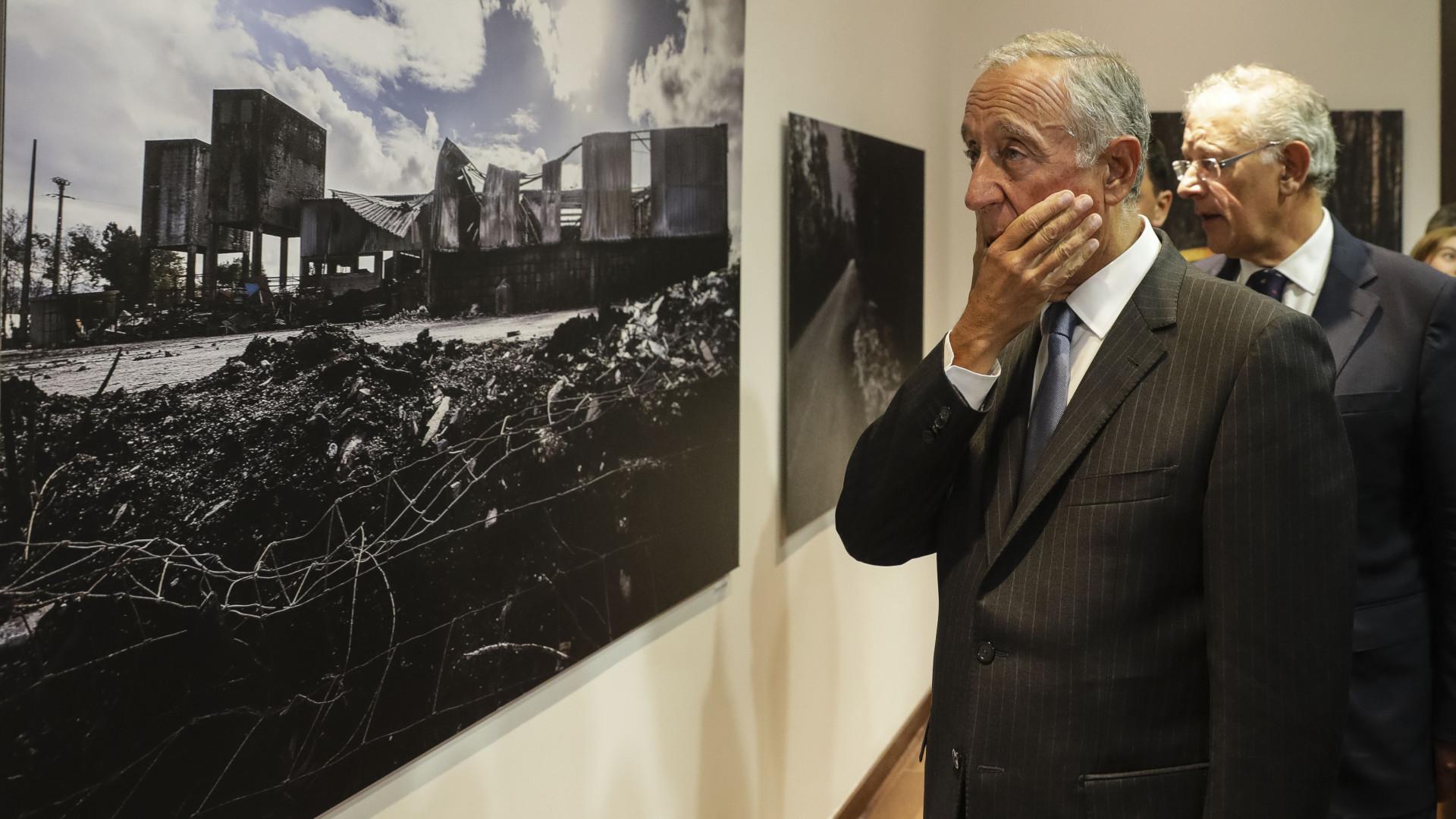 """Marcelo diz que o país tudo fará para vencer as """"forças da natureza"""""""