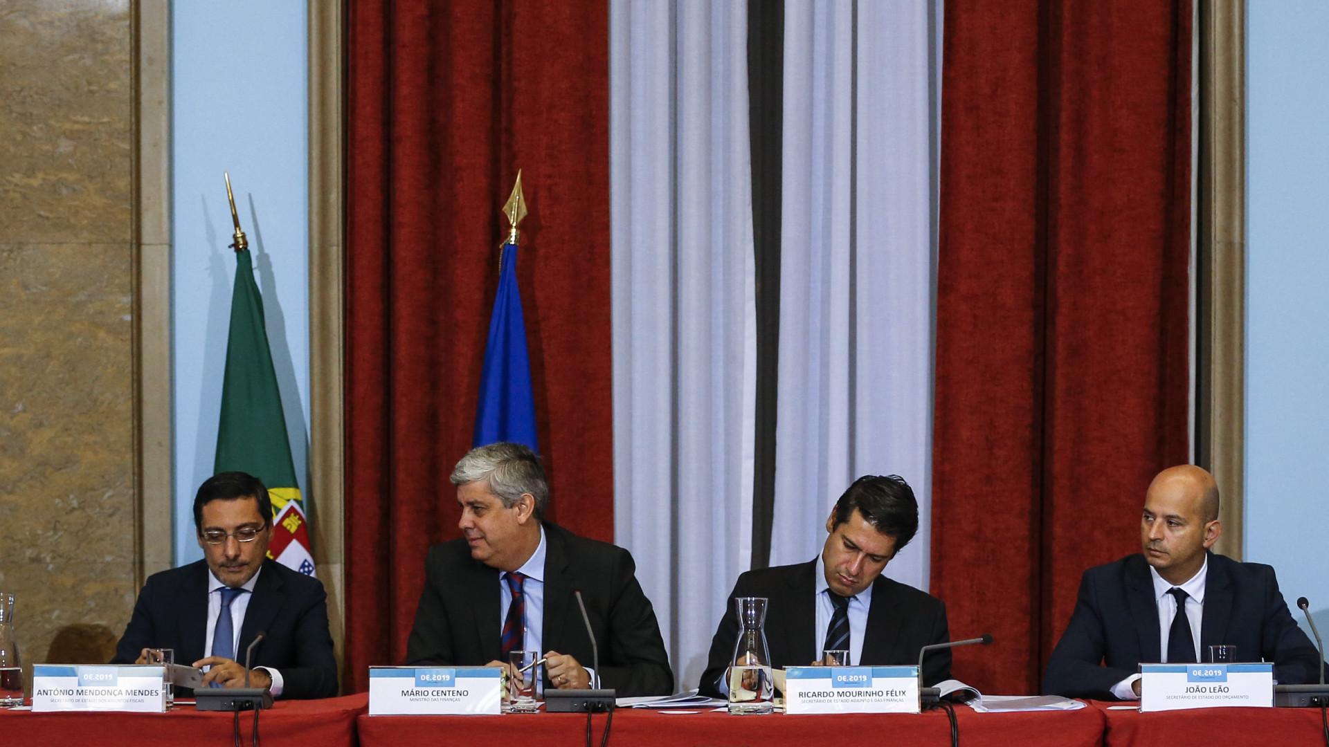 Governo fala em alívio fiscal de 1.000 milhões de euros para as famílias