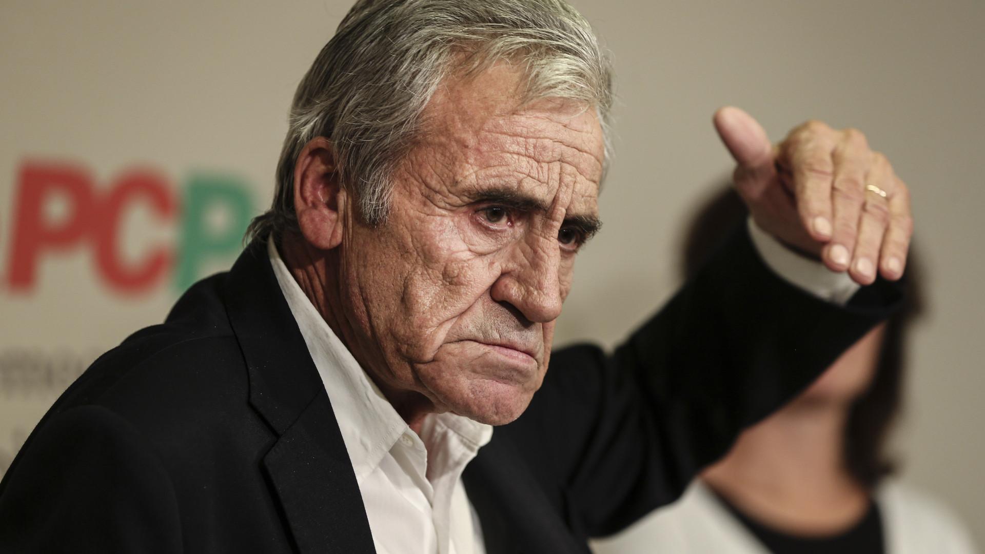 Jerónimo de Sousa garante que não desiste de salário mínimo de 650 euros